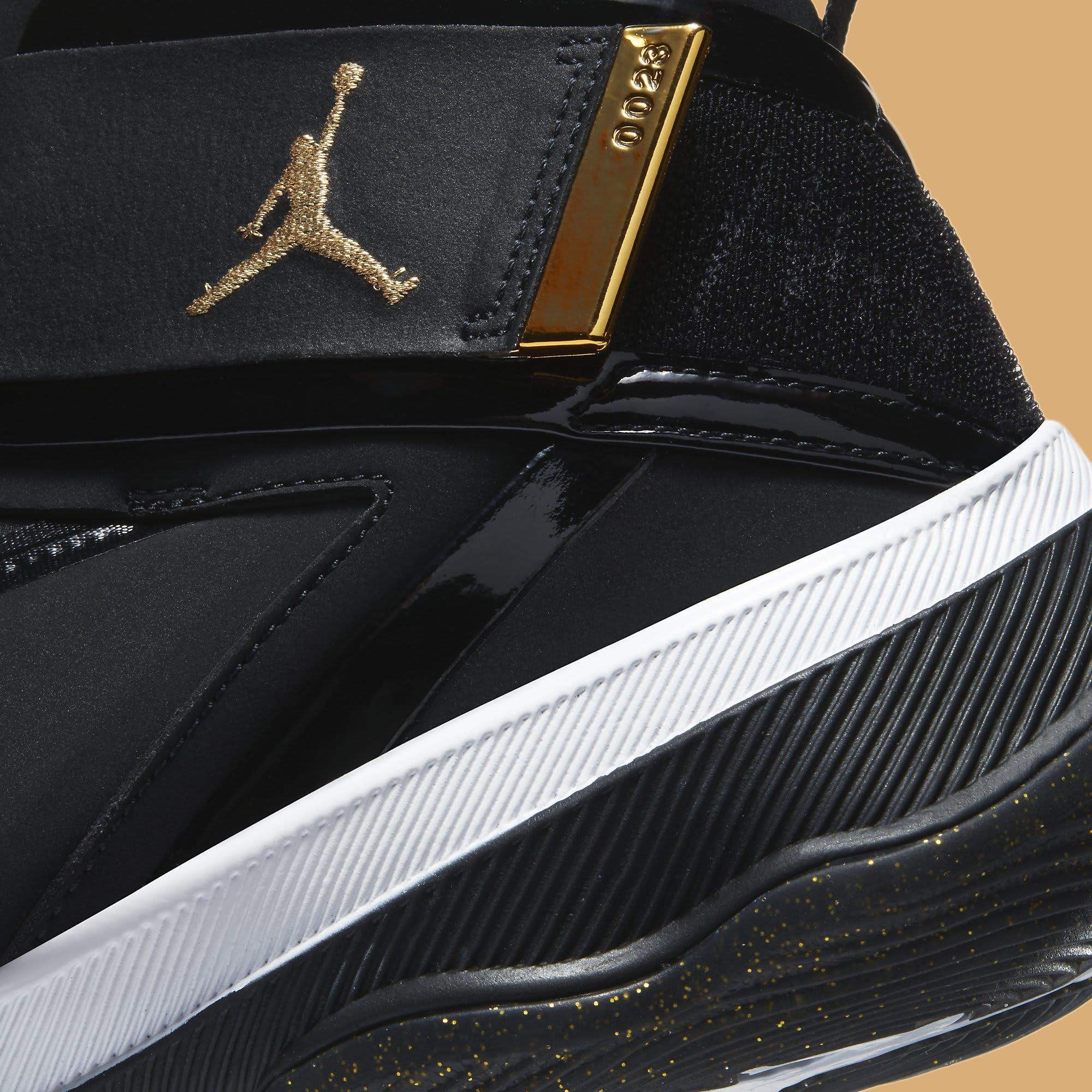 Jordan AJNT 23 Black Gold Release Date CI5441-008 Midsole