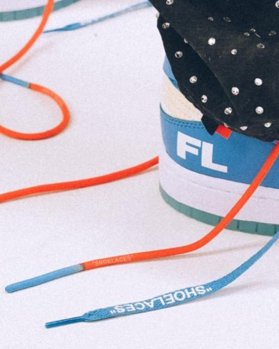 Off-White x Futura x Nike Dunk Low (Detail)