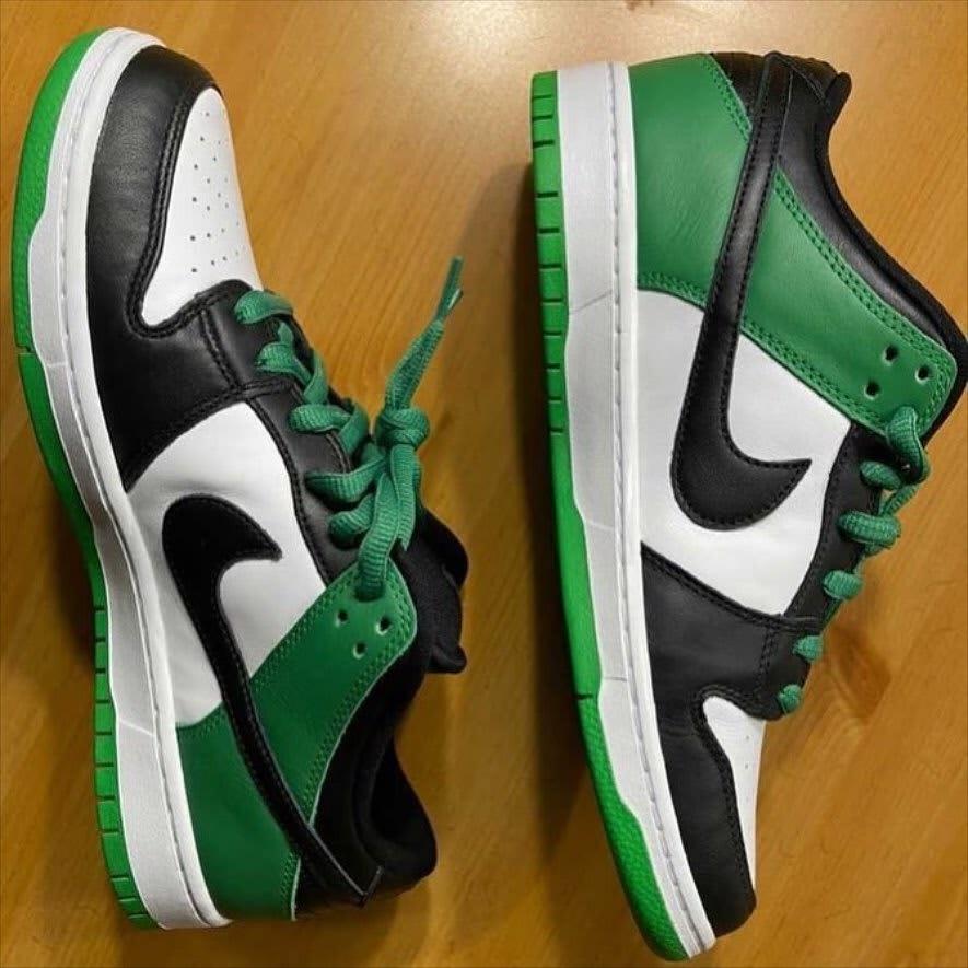 Nike SB Dunk Low 'Classic Green' Medial BQ6817-302