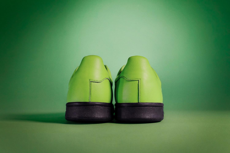 Fucking Awesome x Adidas Stan Smith (Green Heel)