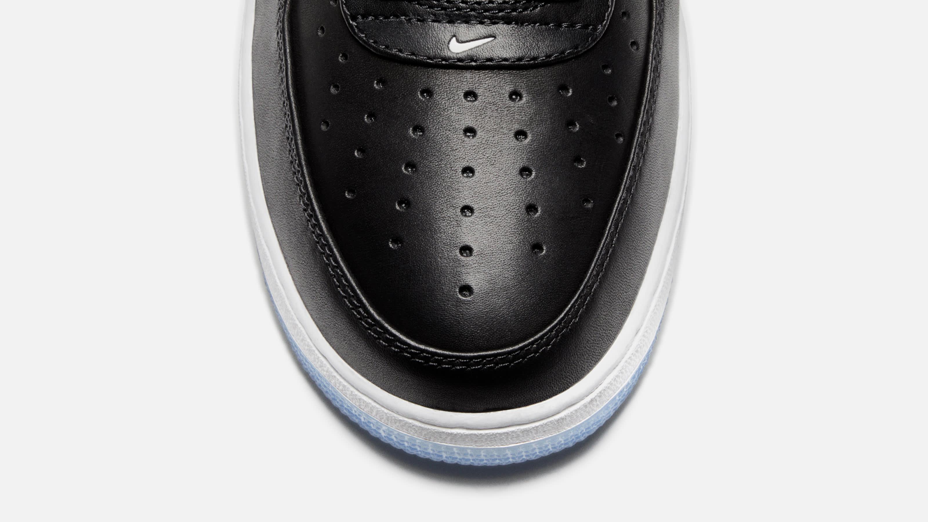 Colin Kaepernick x Nike Air Force 1 Low Release Date CQ0493-001 Toe