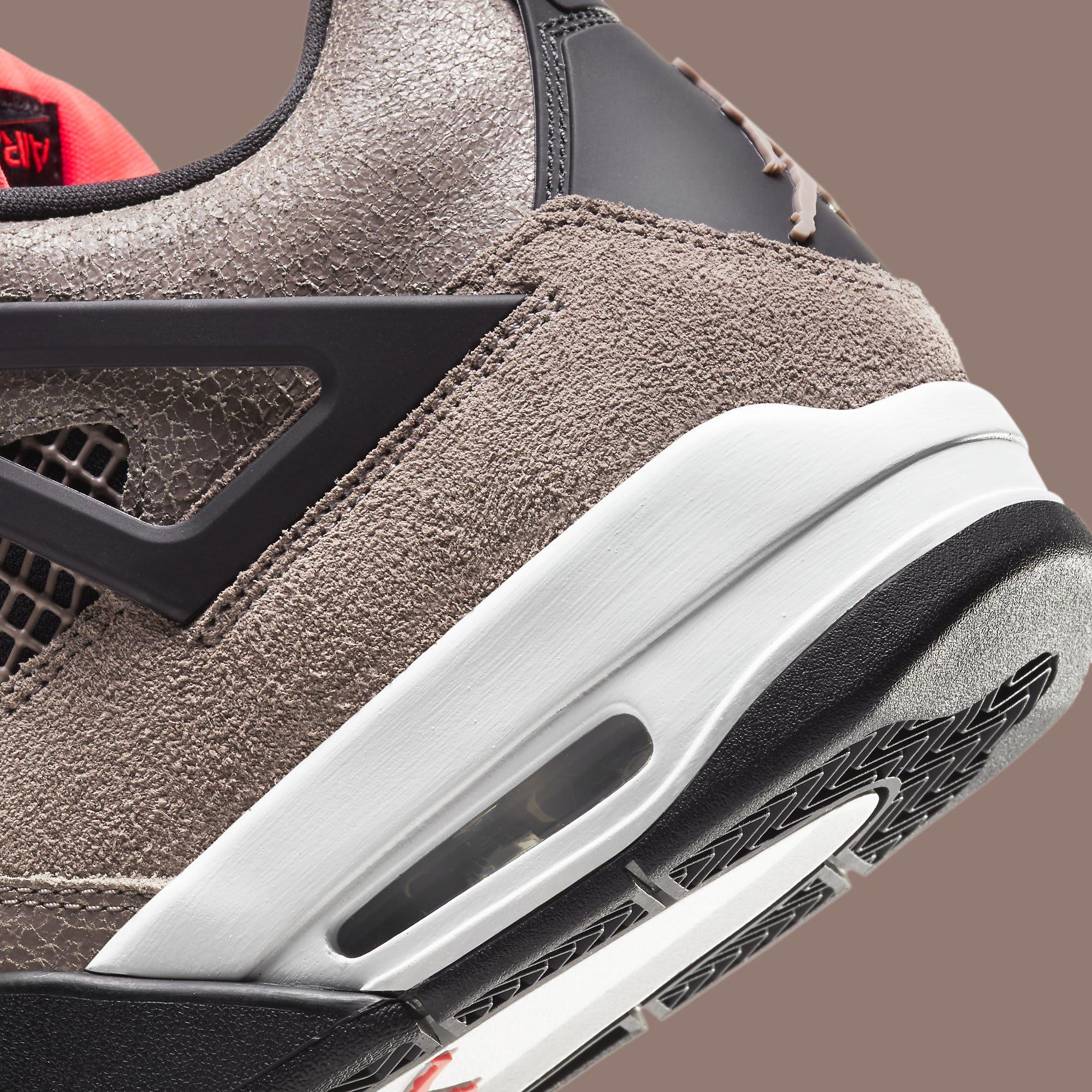 Air Jordan 4 IV Taupe Haze Release Date DB0732-200 Heel Detail