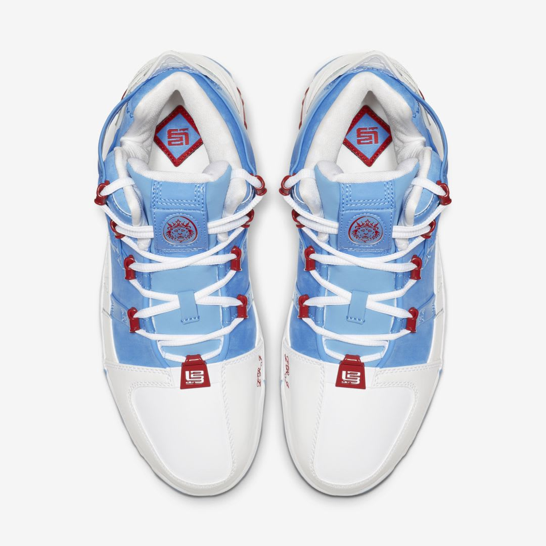 hot sale online 114e1 d3d98 Image via  J23app · Nike Zoom LeBron 3  Houston All-Star  AO2434-400 (Top)