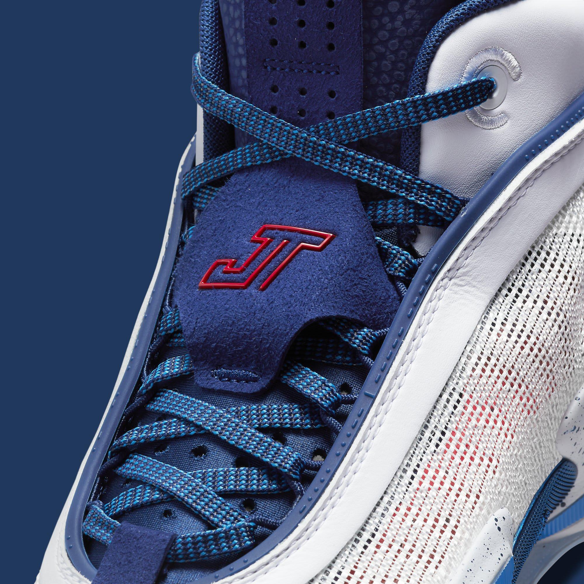 Air Jordan 36 Jayson Tatum PE DJ4484-100 Tongue
