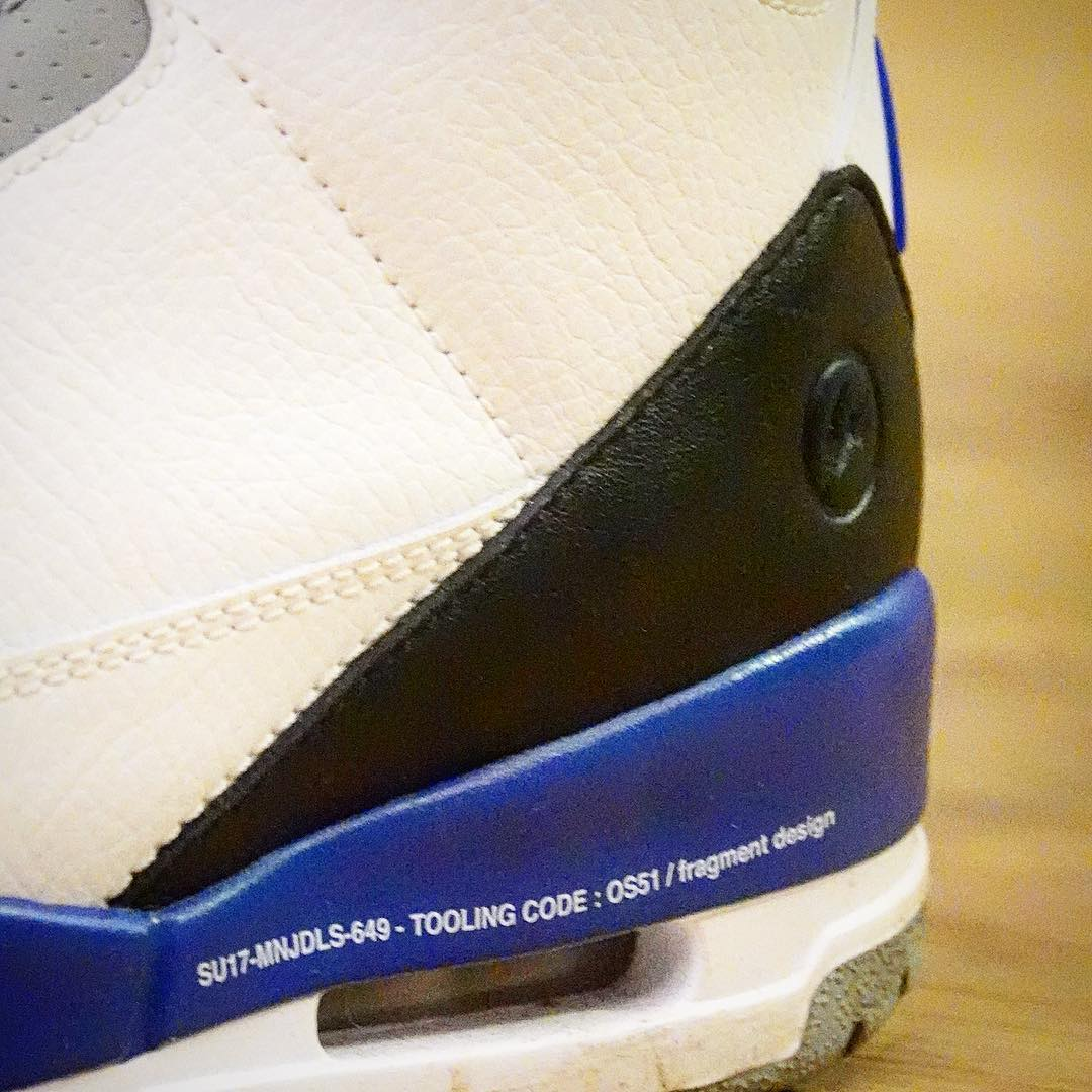 low priced 6408e 00f96 Image via hkkicksgram · Hiroshi Fujiwara x Air Jordan 3 2