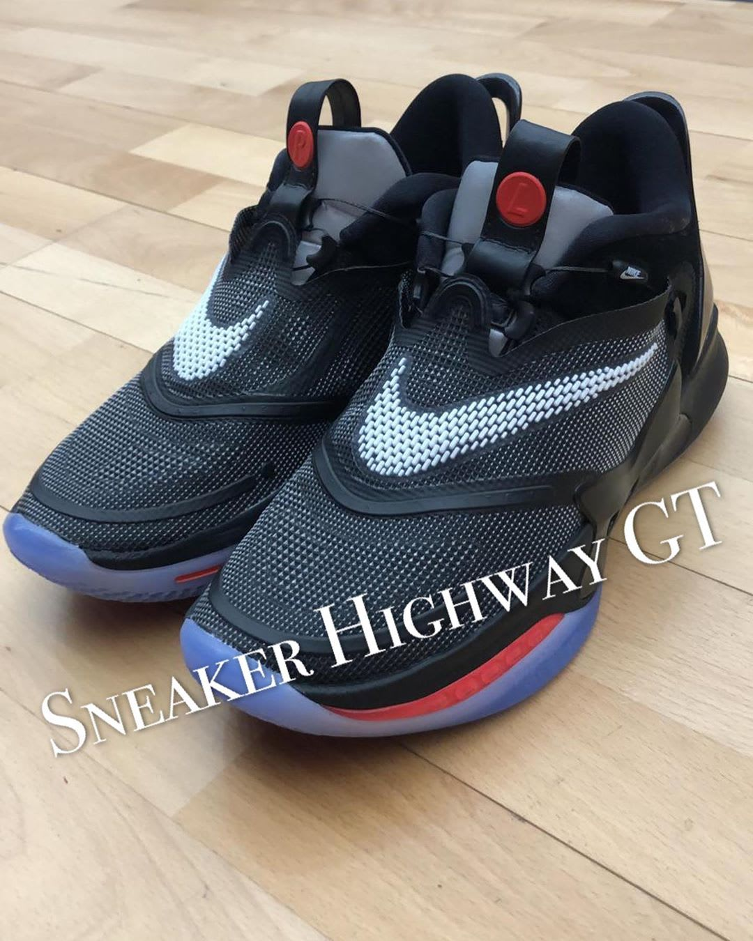 Nike Adapt BB 2 Black Front