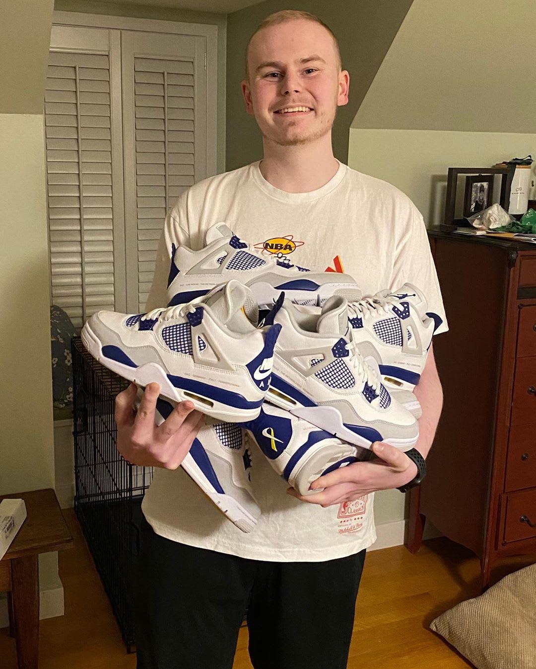 Air Jordan 4 'Make-A-Wish' Peyton Smith