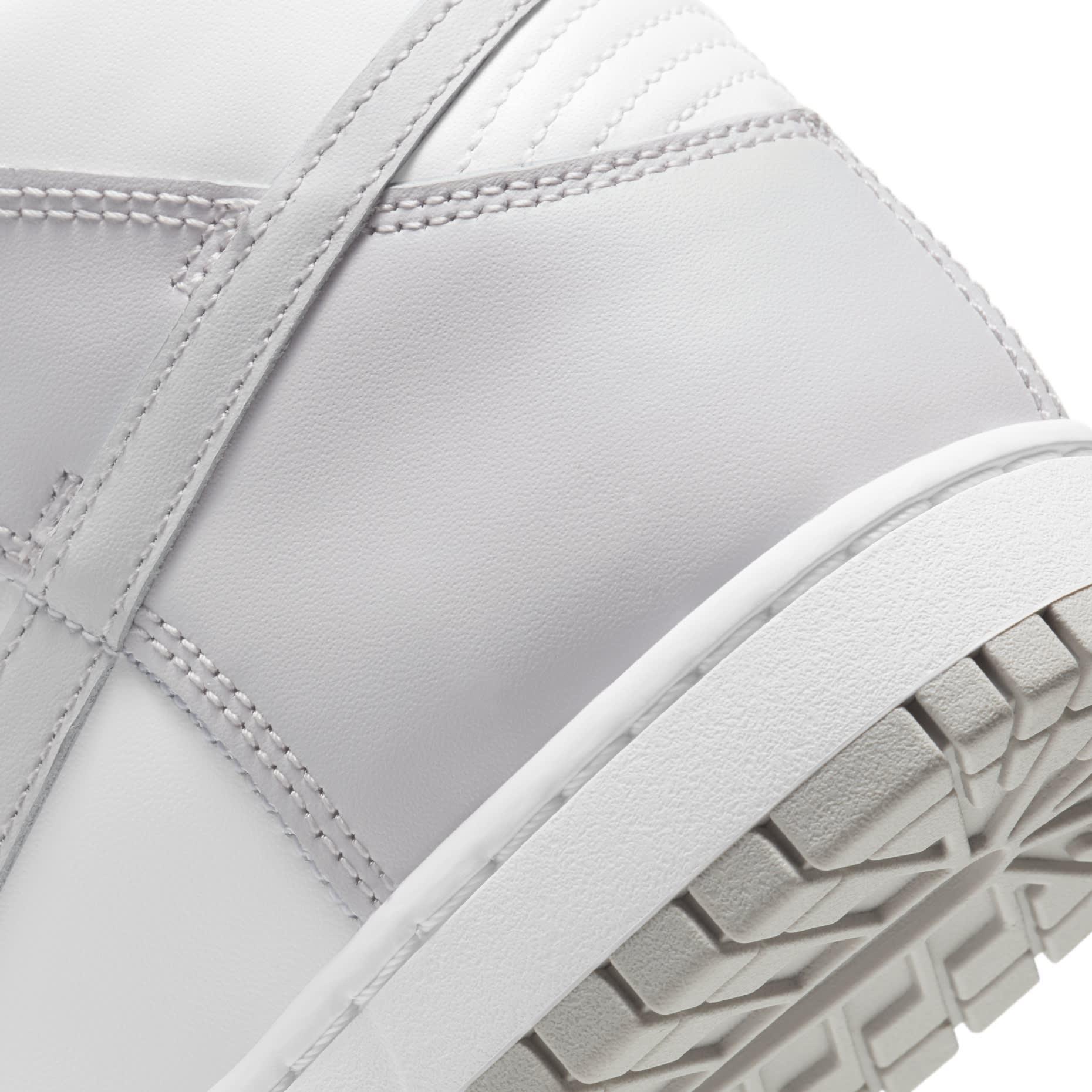 Nike Dunk High 'Vast Grey' DD1399-100 Heel
