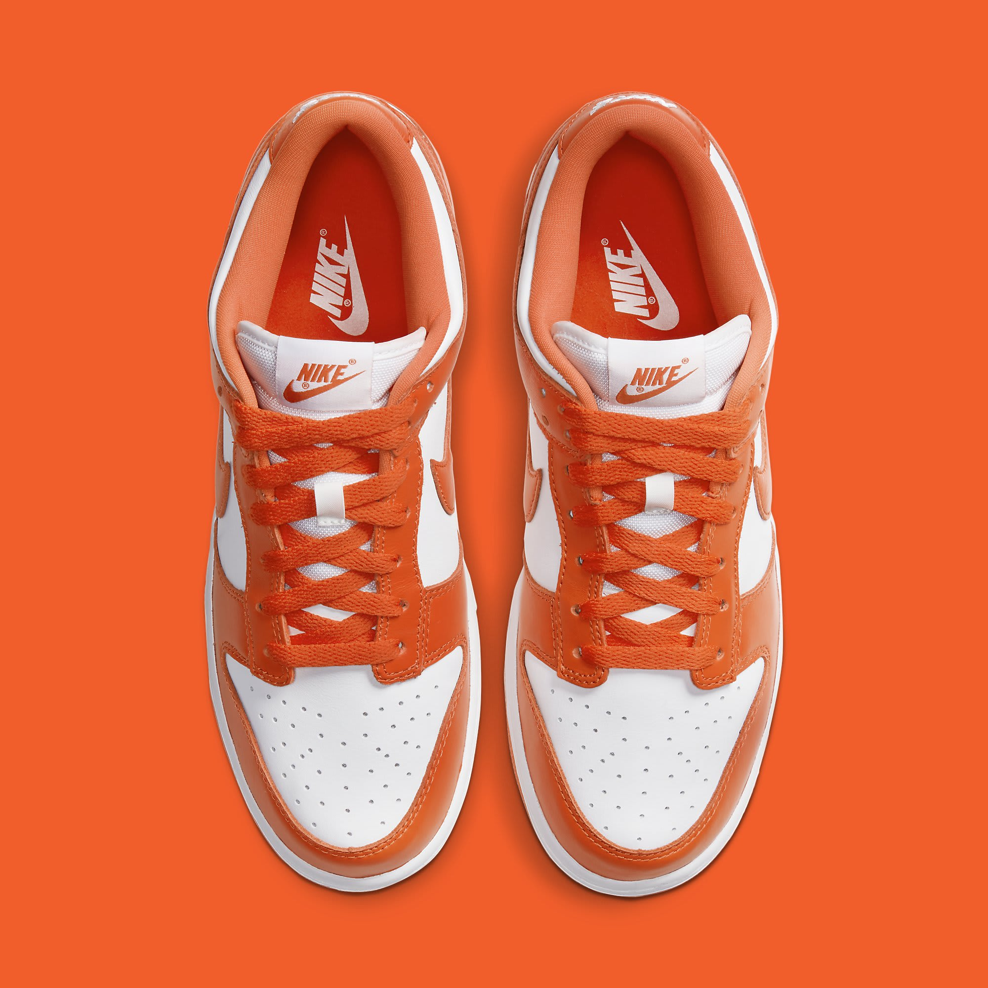 Nike Dunk Low Syracuse Release Date CU1726-101 Top
