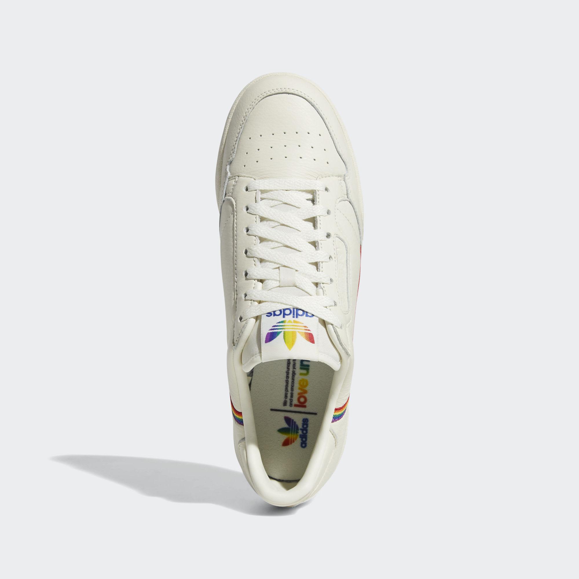 size 40 4a1bf a2d60 Image via Adidas Adidas Continental 80 'Pride' EF2318 (Top)