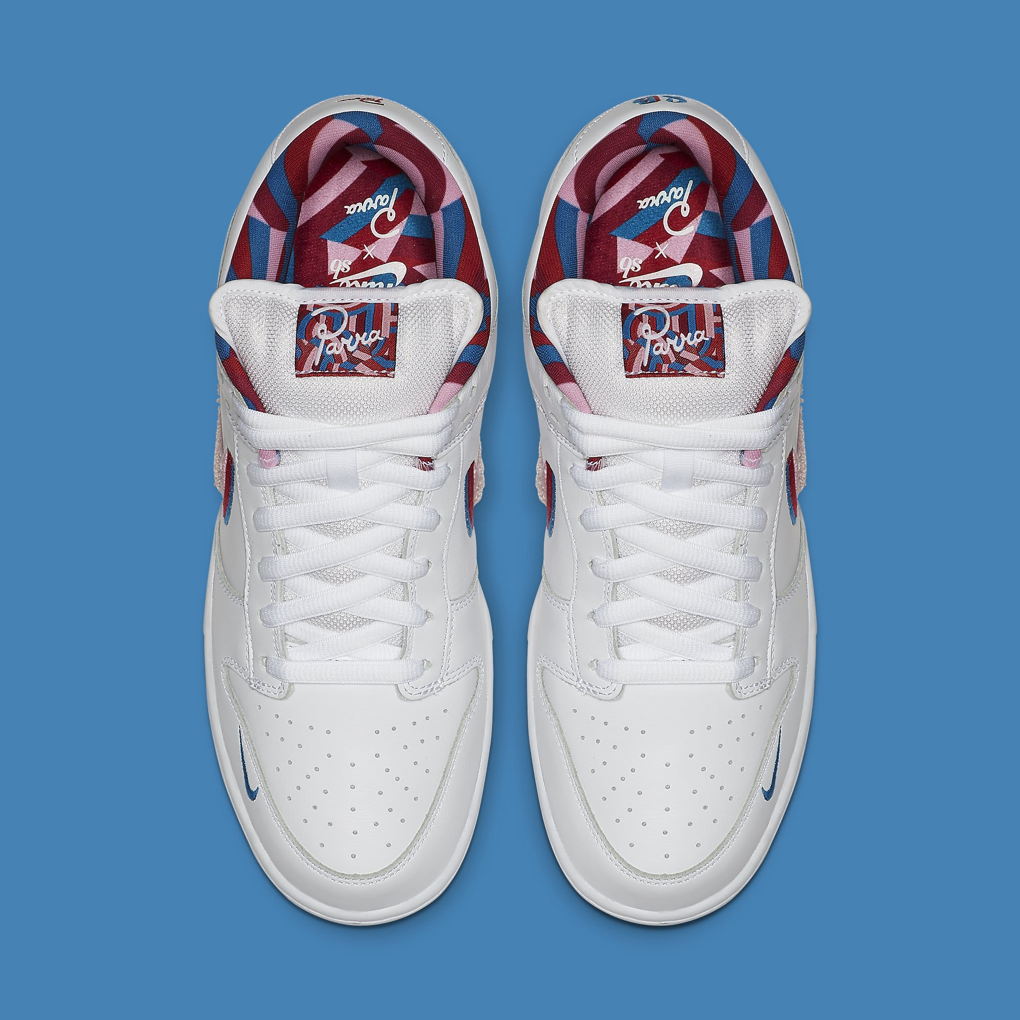 Parra x Nike SB Dunk Low CN4504-100 Top