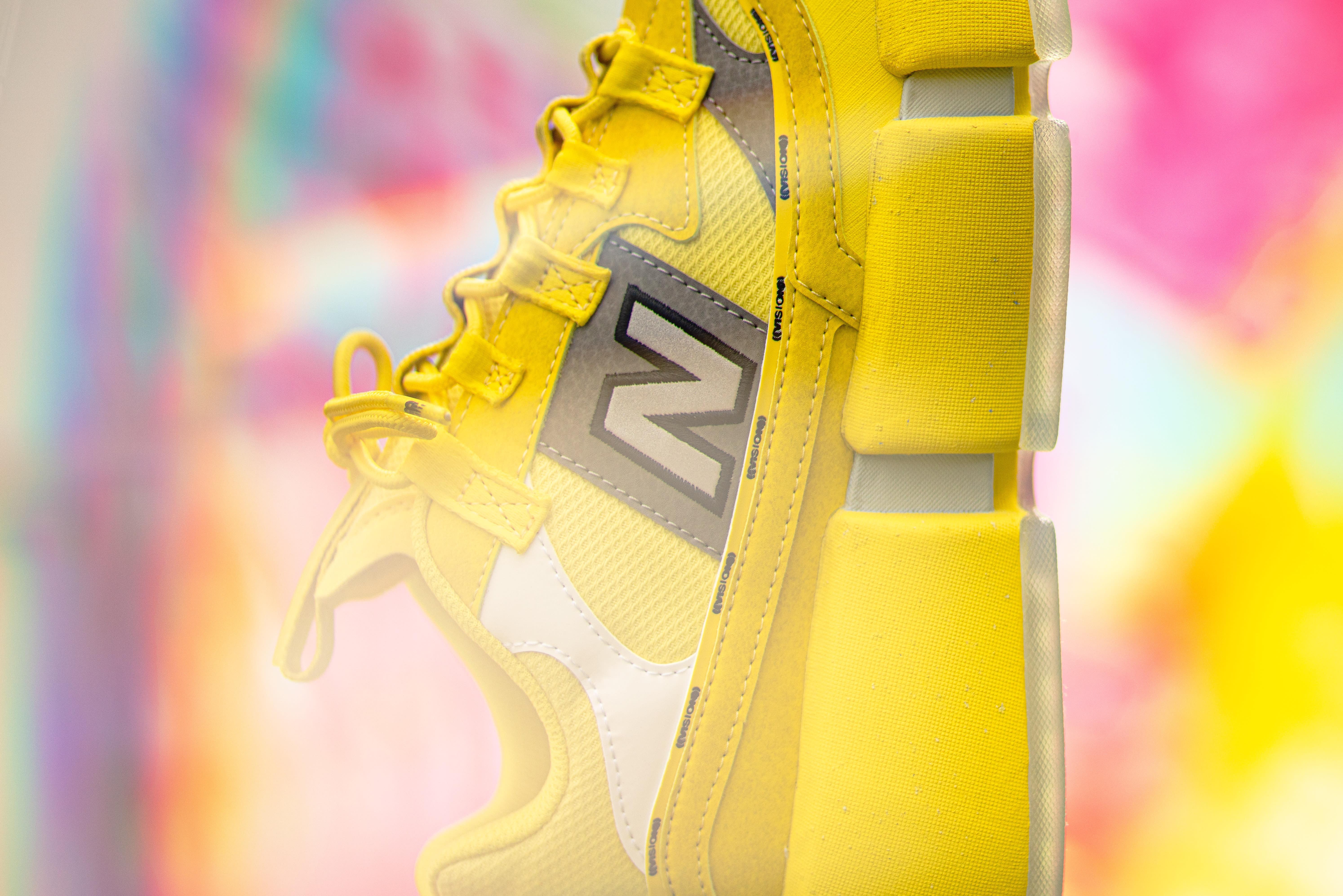 Jaden Smith New Balance Vision Racer 'Sunflower Yellow' Side