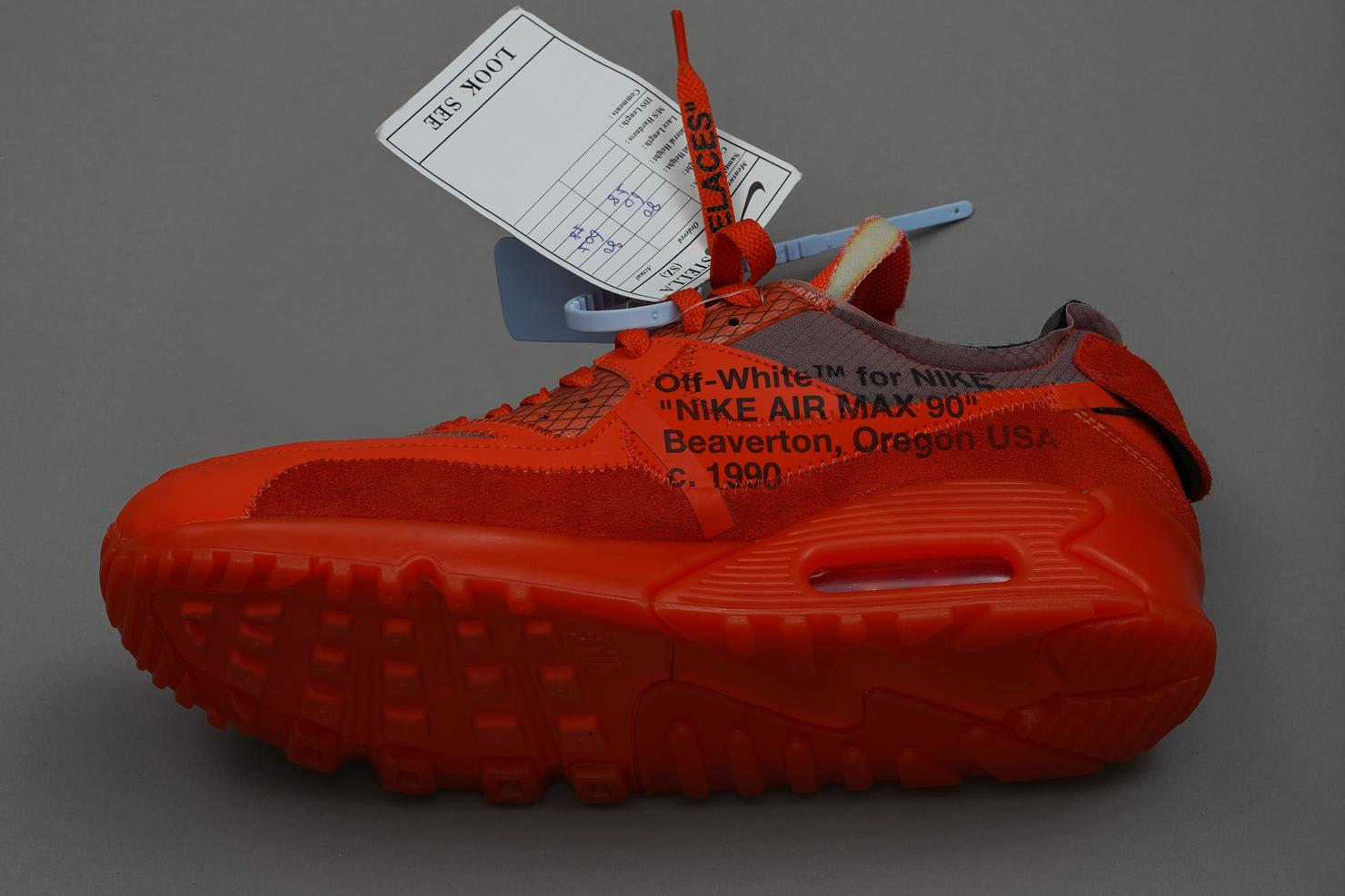Off-White x Nike Air Max 90 Prototype