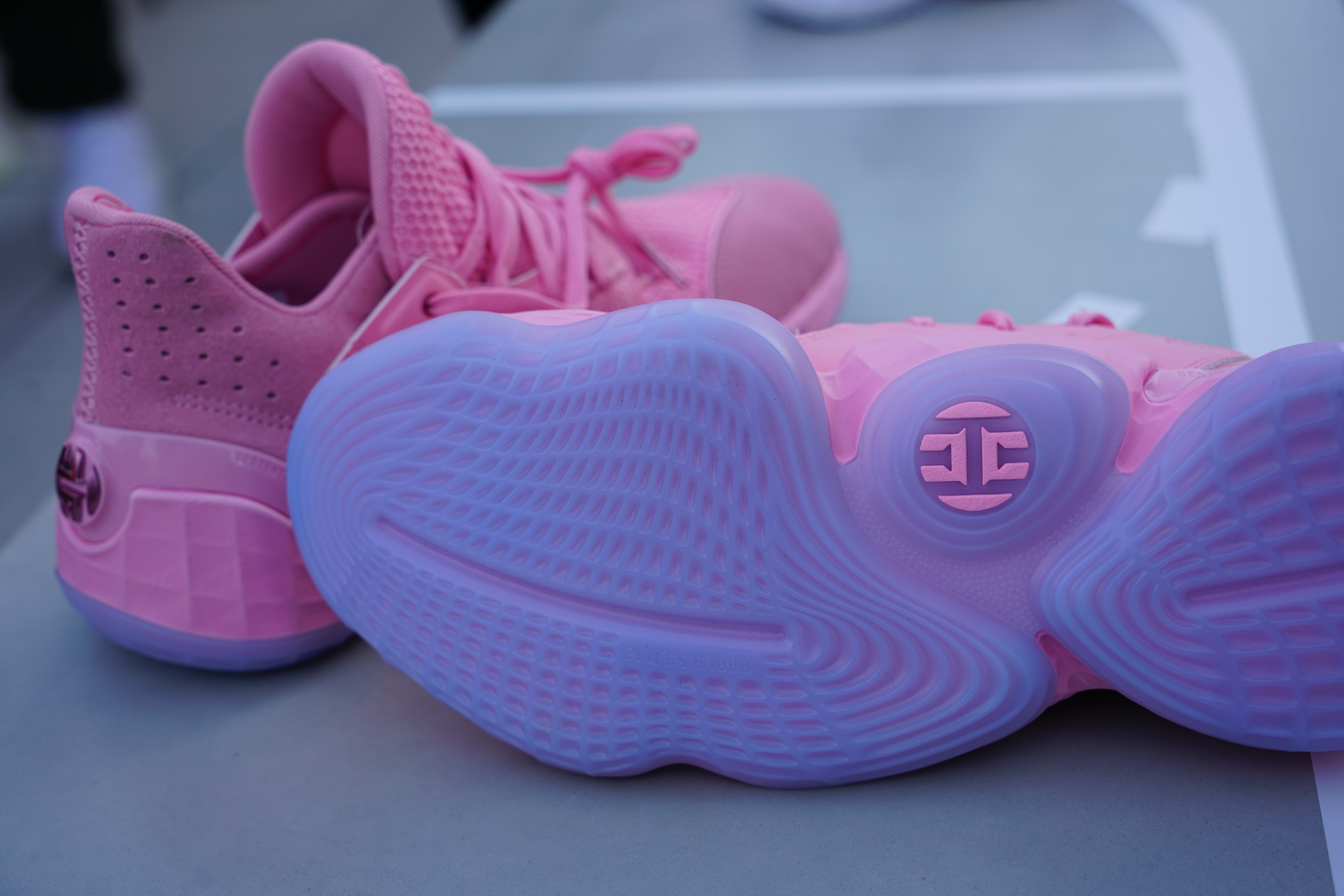 Adidas Harden Vol. 4 'Pink Lemonade' (Sole)
