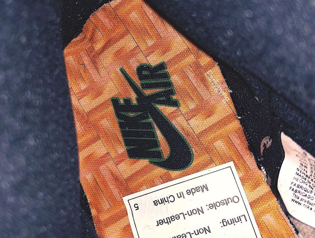 Air Jordan 1 Women's Lucky Green Release Date DB4612-300 Insole