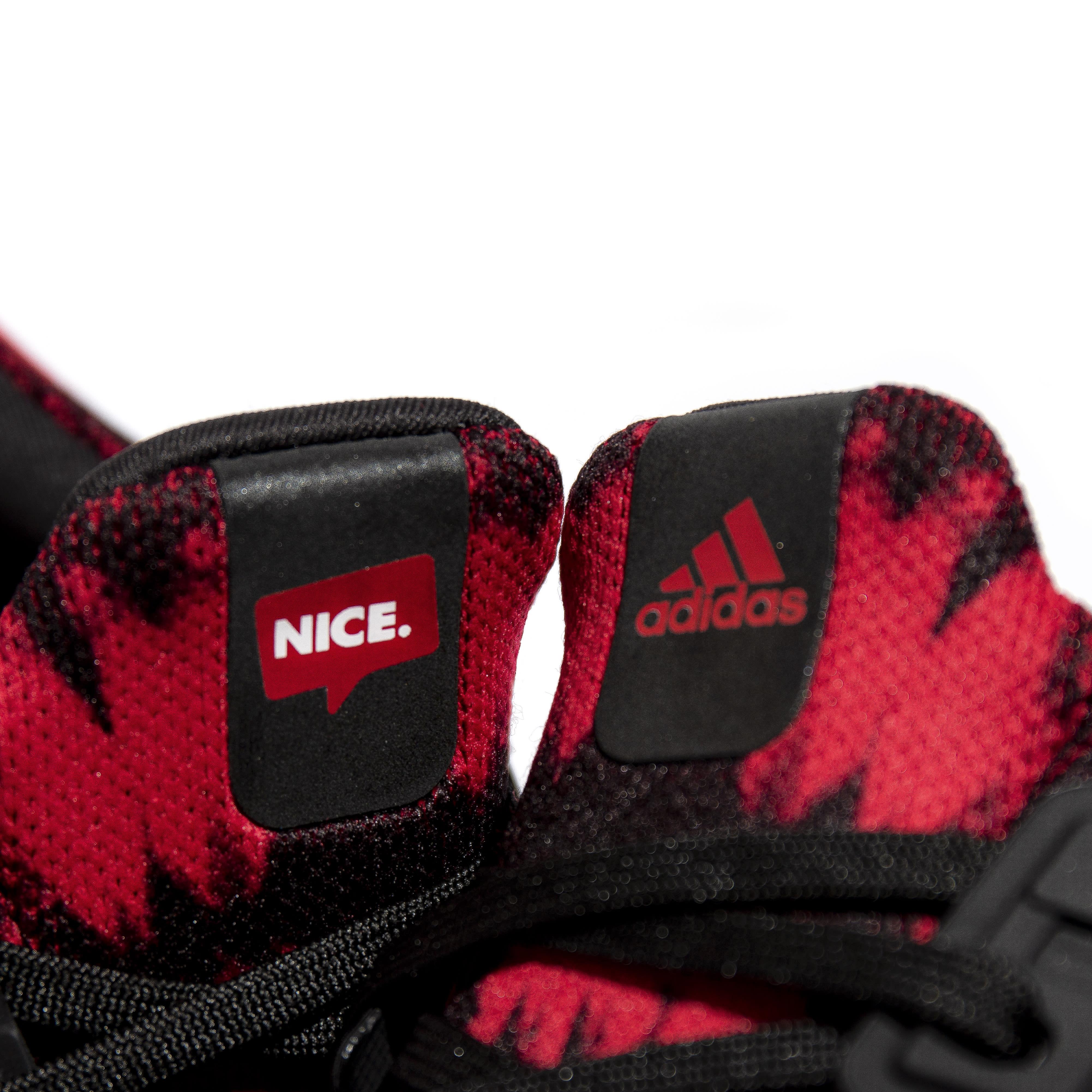 Nice Kicks x Adidas Ultra Boost 'No Vacancy' Tongue