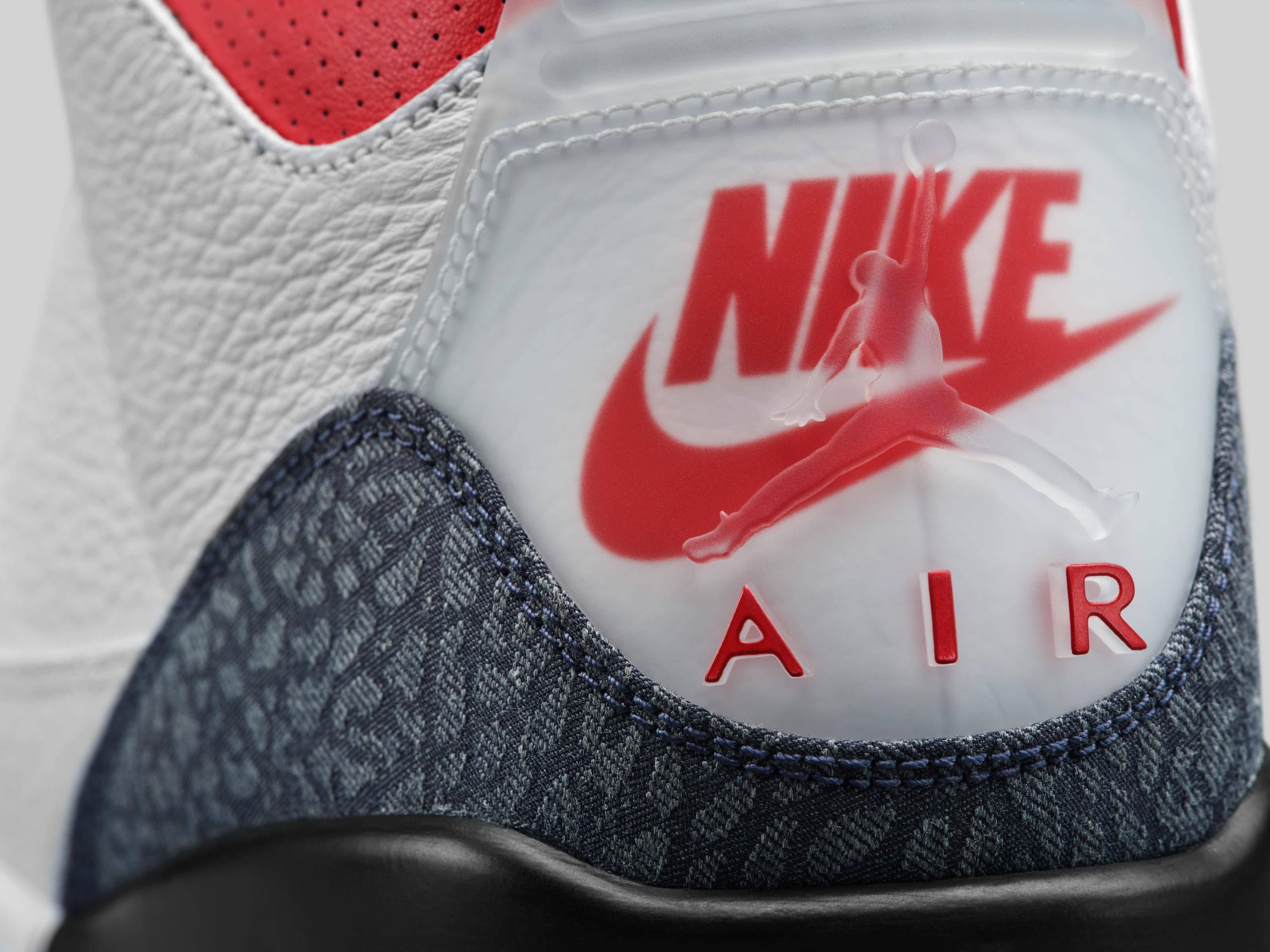 Air Jordan 3 Retro SE 'Denim' CZ6431-100 Heel