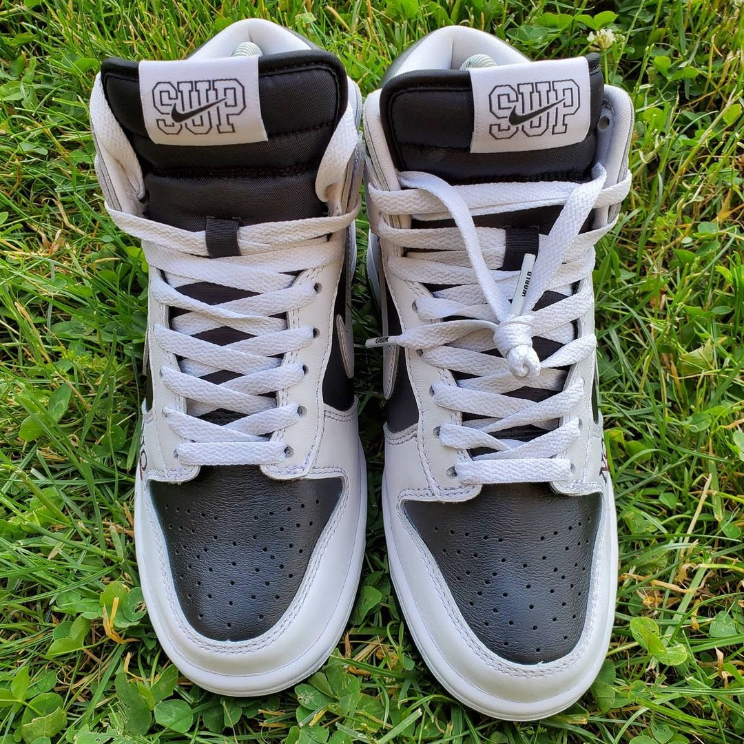 Supreme x Nike SB Dunk High 'By Any Means' (Top 2)