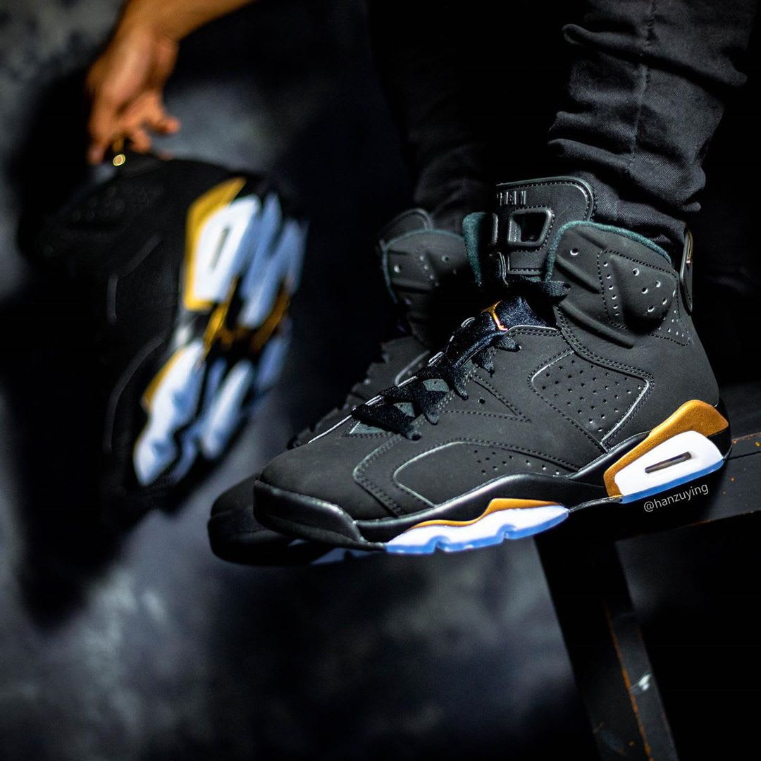 Air Jordan 6 DMP Release Date CT4594-007 On-Foot Profile