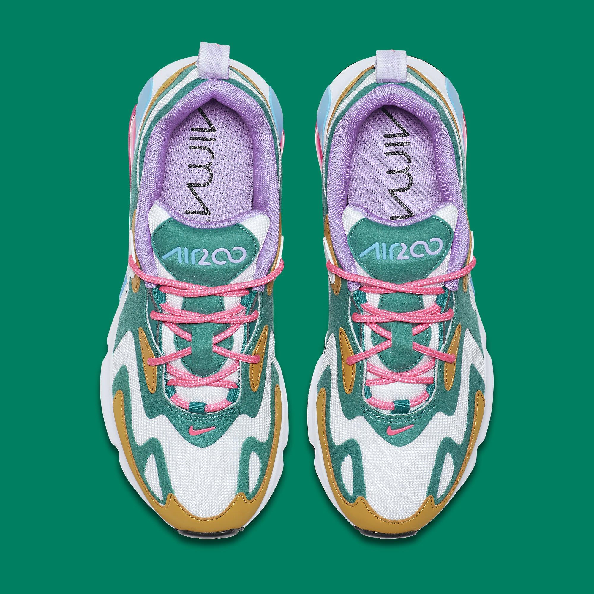 Nike Air Max 200 Women's 'Mystic Green' AT6175-300 Top
