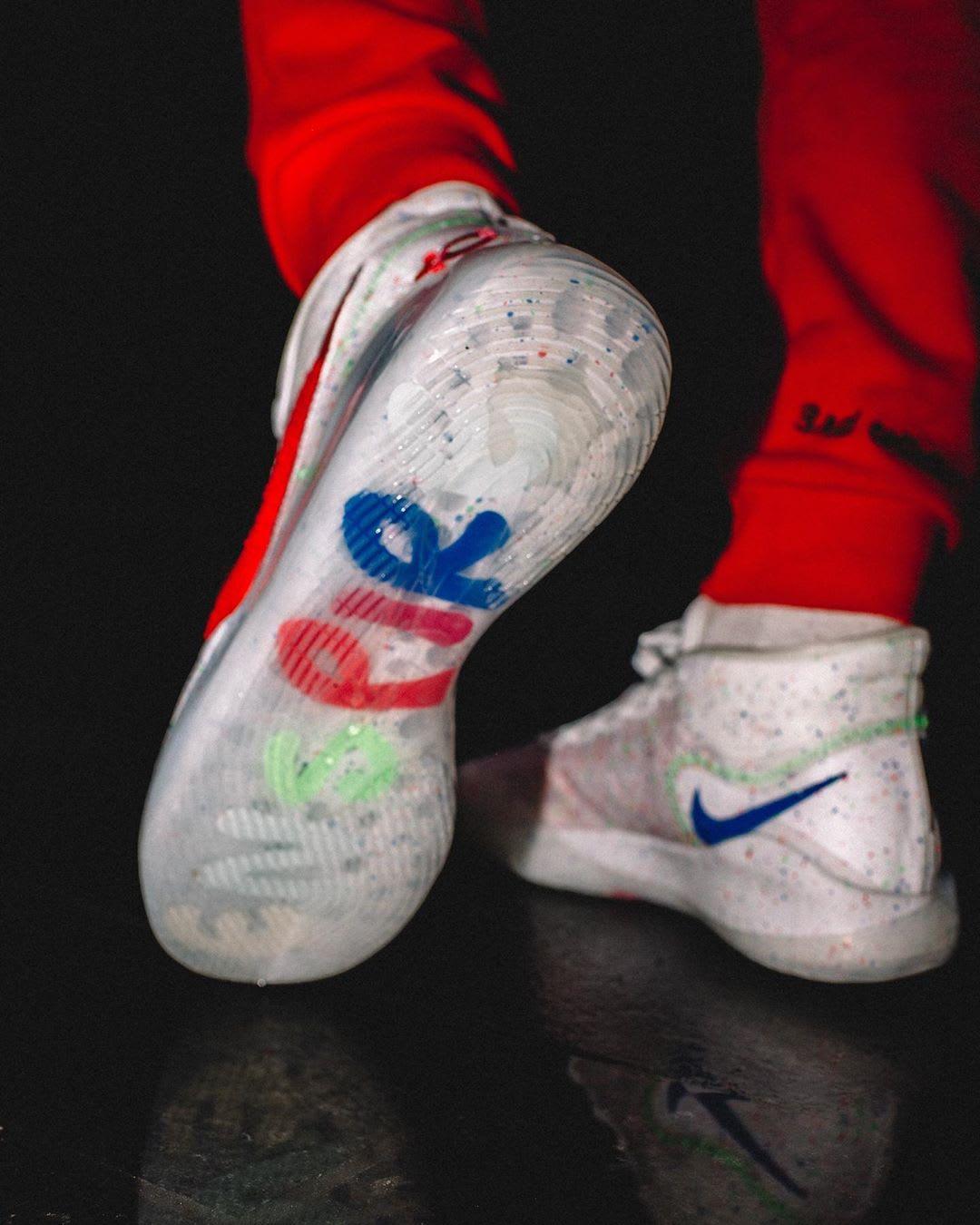 Enspire x Nike KD 12 White Release Date Sole