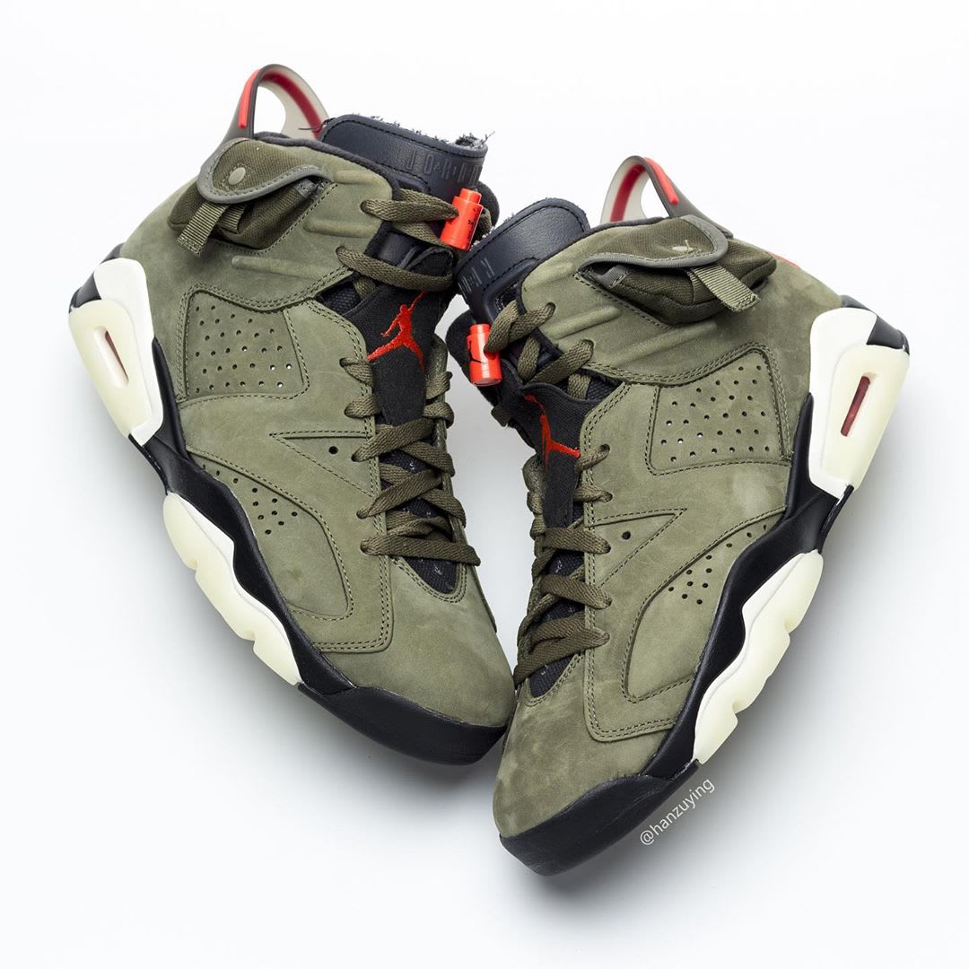 Travis Scott Air Jordan 6 Release date CN1084-200 Top