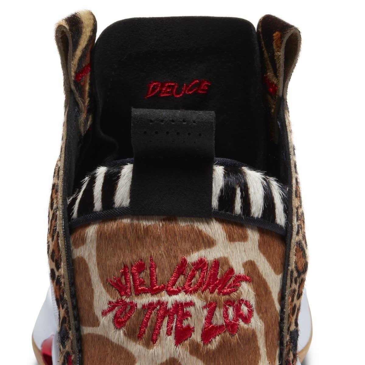 Air Jordan 34 PE Jayson Tatum 'Welcome to the Zoo' Heel