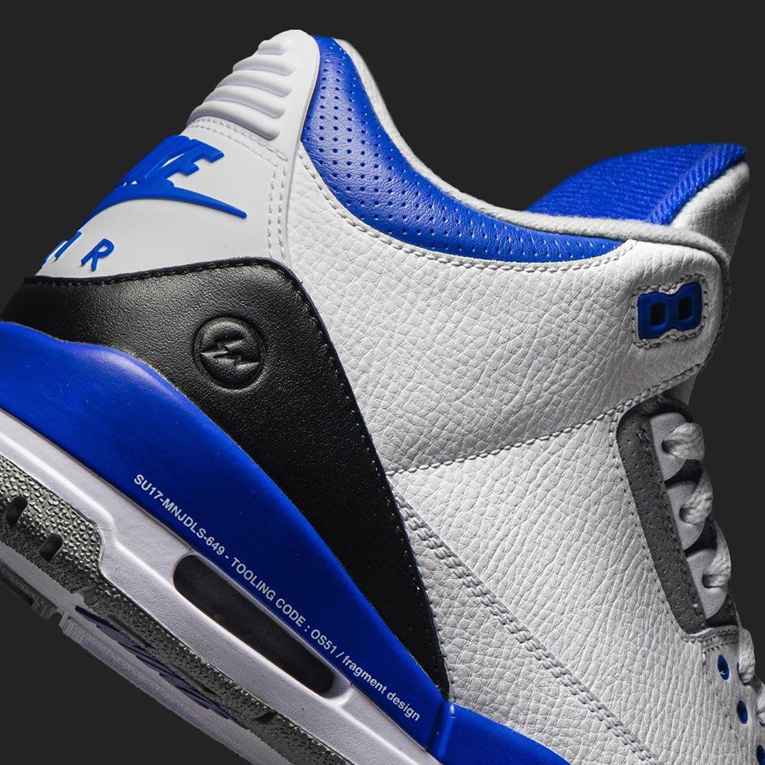 Fragment Design x Air Jordan 3 Retro Sample