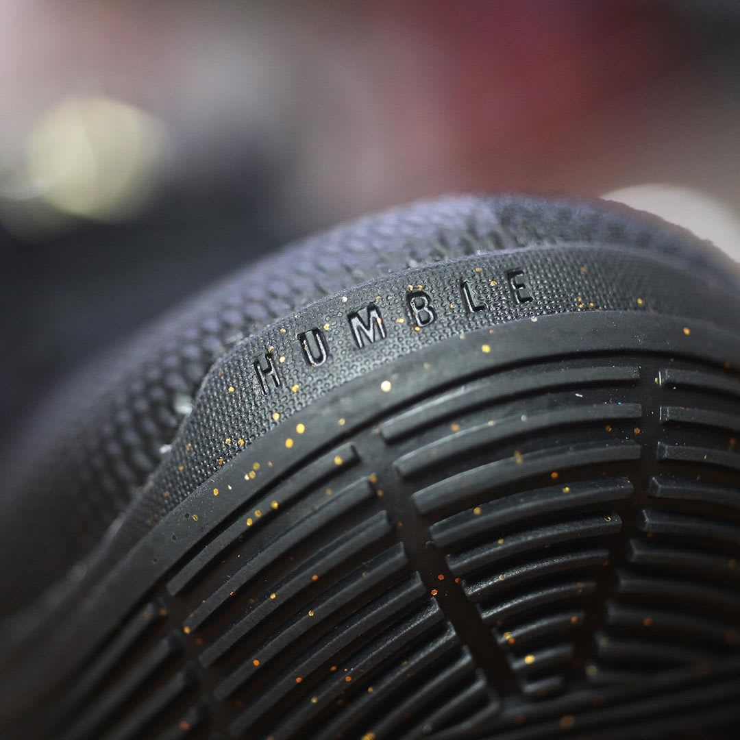 Nike Kyrie 5 Black Metallic Gold White Release Date AO2918-007 Humble