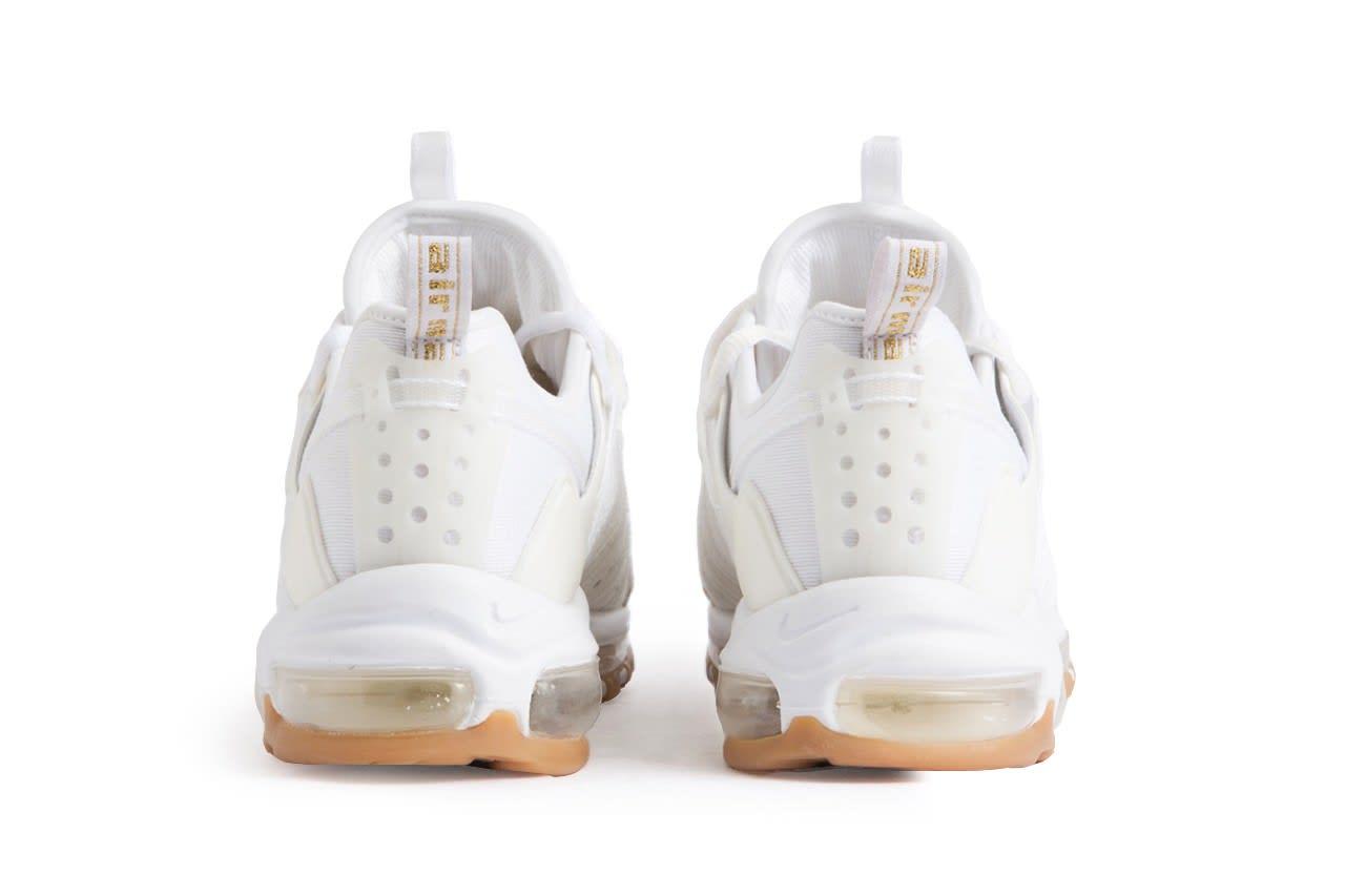Clot x Nike Zoom Haven 97 'White/Off-White/Sail' (Heel)
