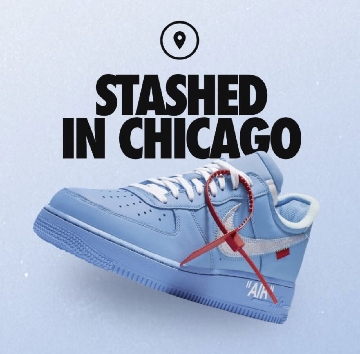 Nike SNKRS Stash: 'MCA' Off-White x Nike Air Force 1 Low