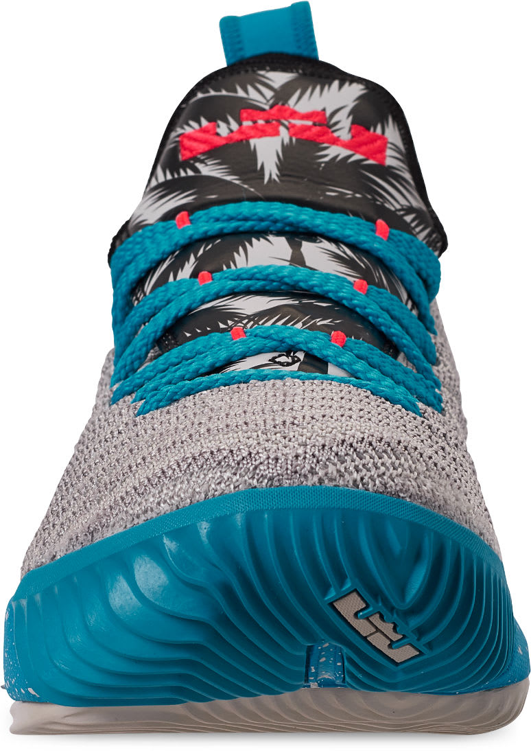 reputable site 89487 54ca5 Nike LeBron 16  South Beach  AQ2465-076 Toe