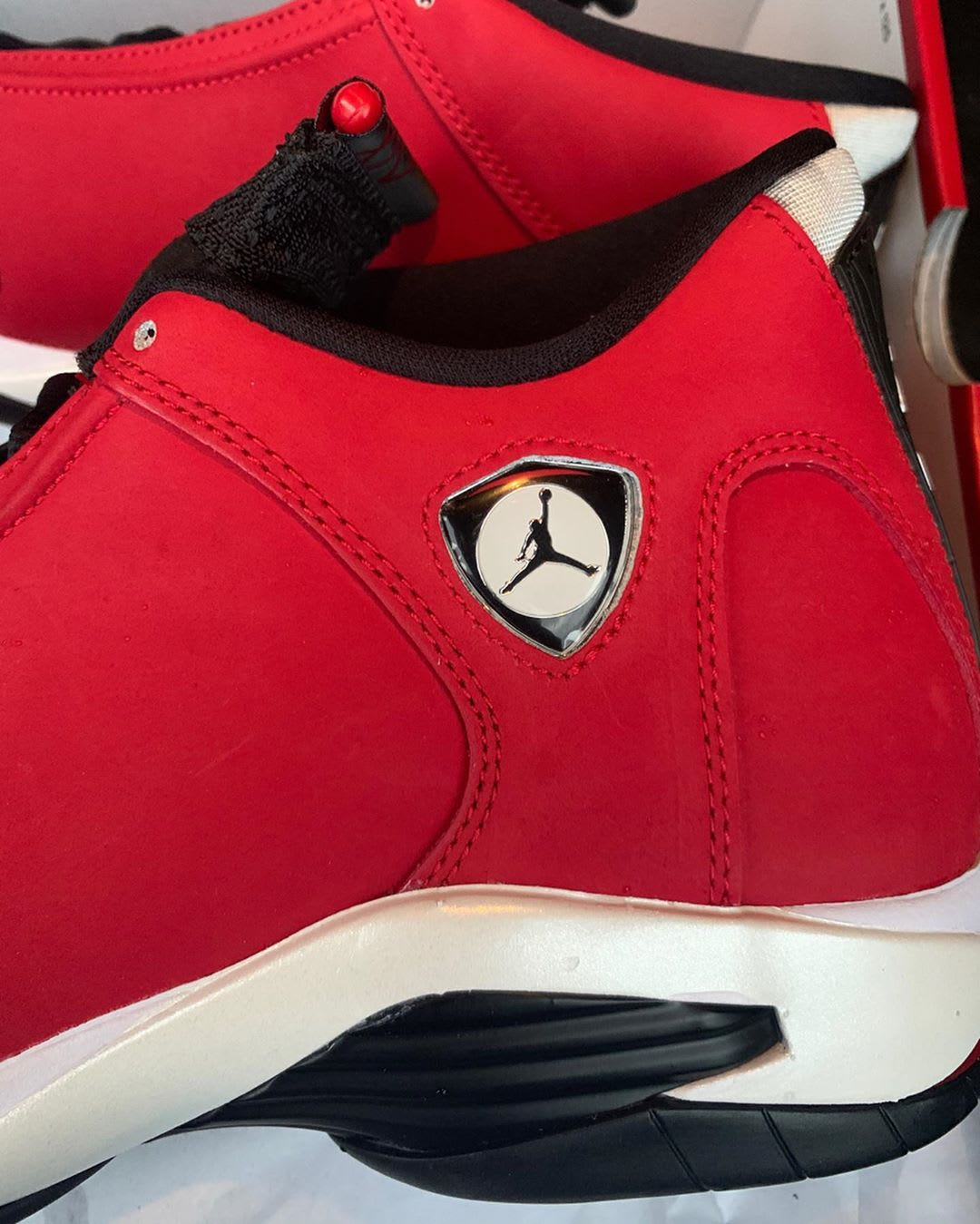 Air Jordan 14 Retro 'Gym Red' 487471-006 Heel