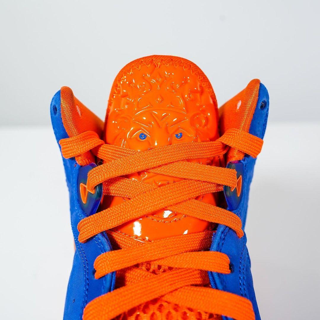Nike LeBron 8 HWC Knicks Cavs 2021 Release Date CV1750-400 Tongue