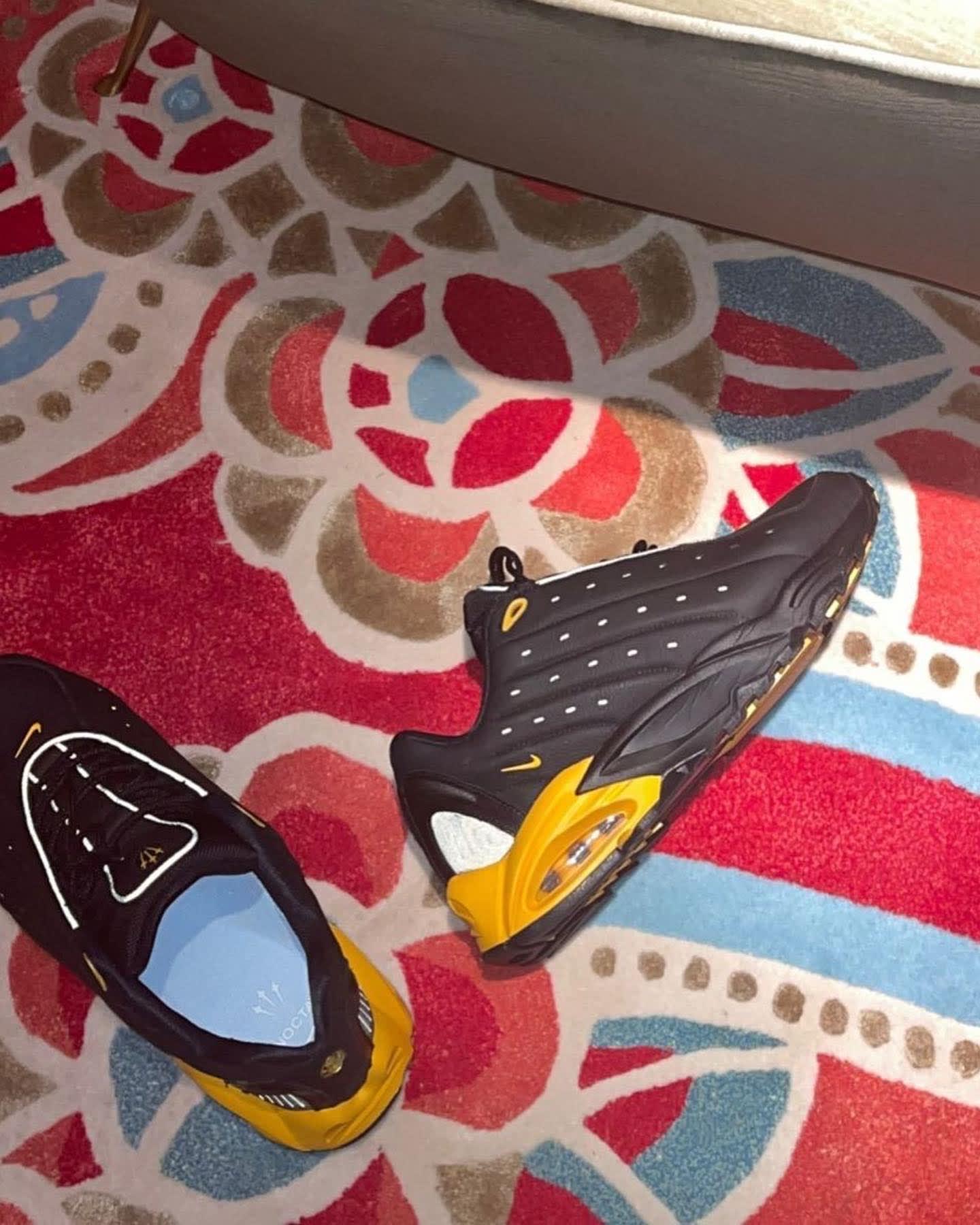 Drake Nike Hot Step Air Terra Black Yellow Gold Release Date