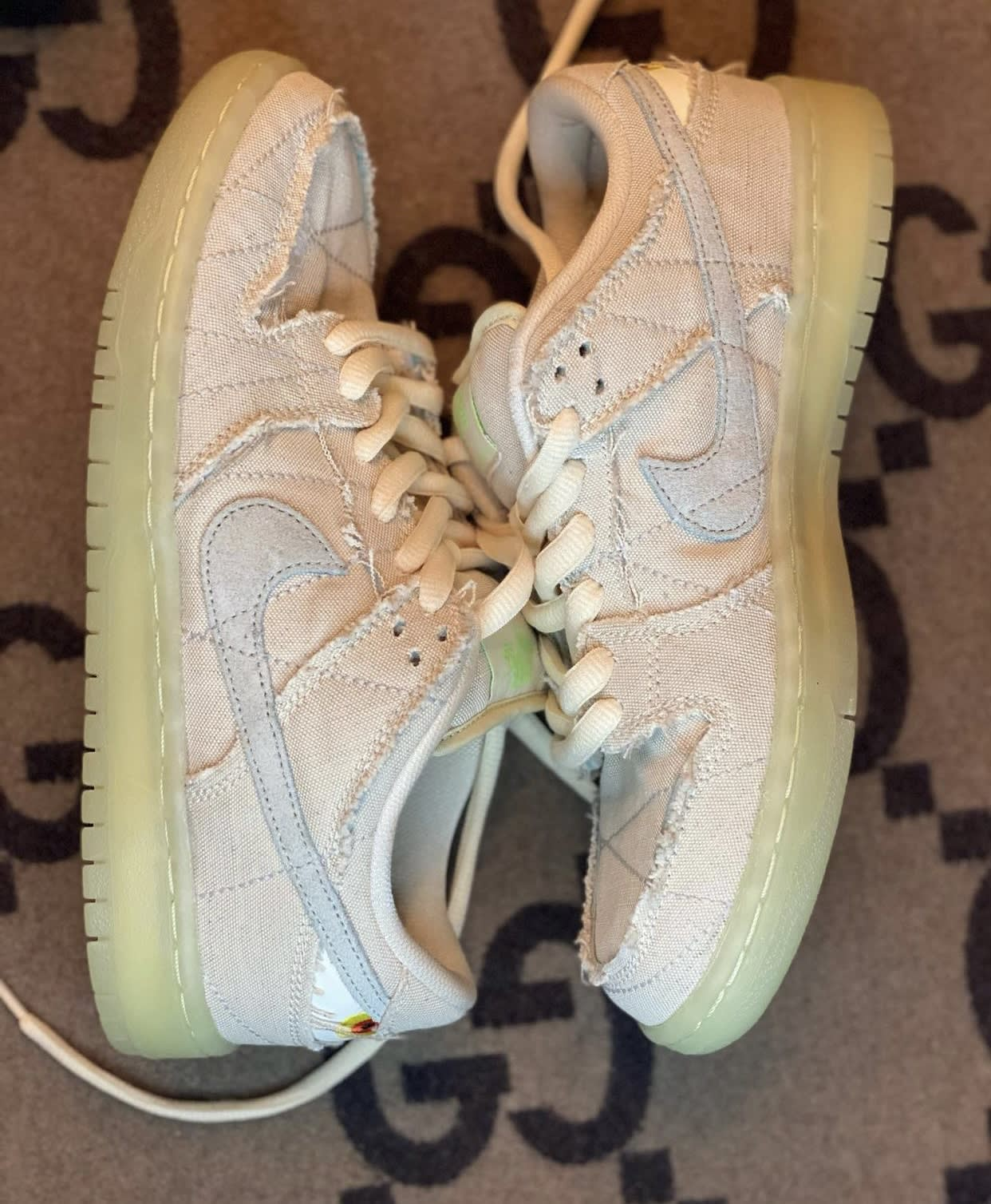 Nike SB Dunk Low Mummy Halloween DM0774-111 Pair