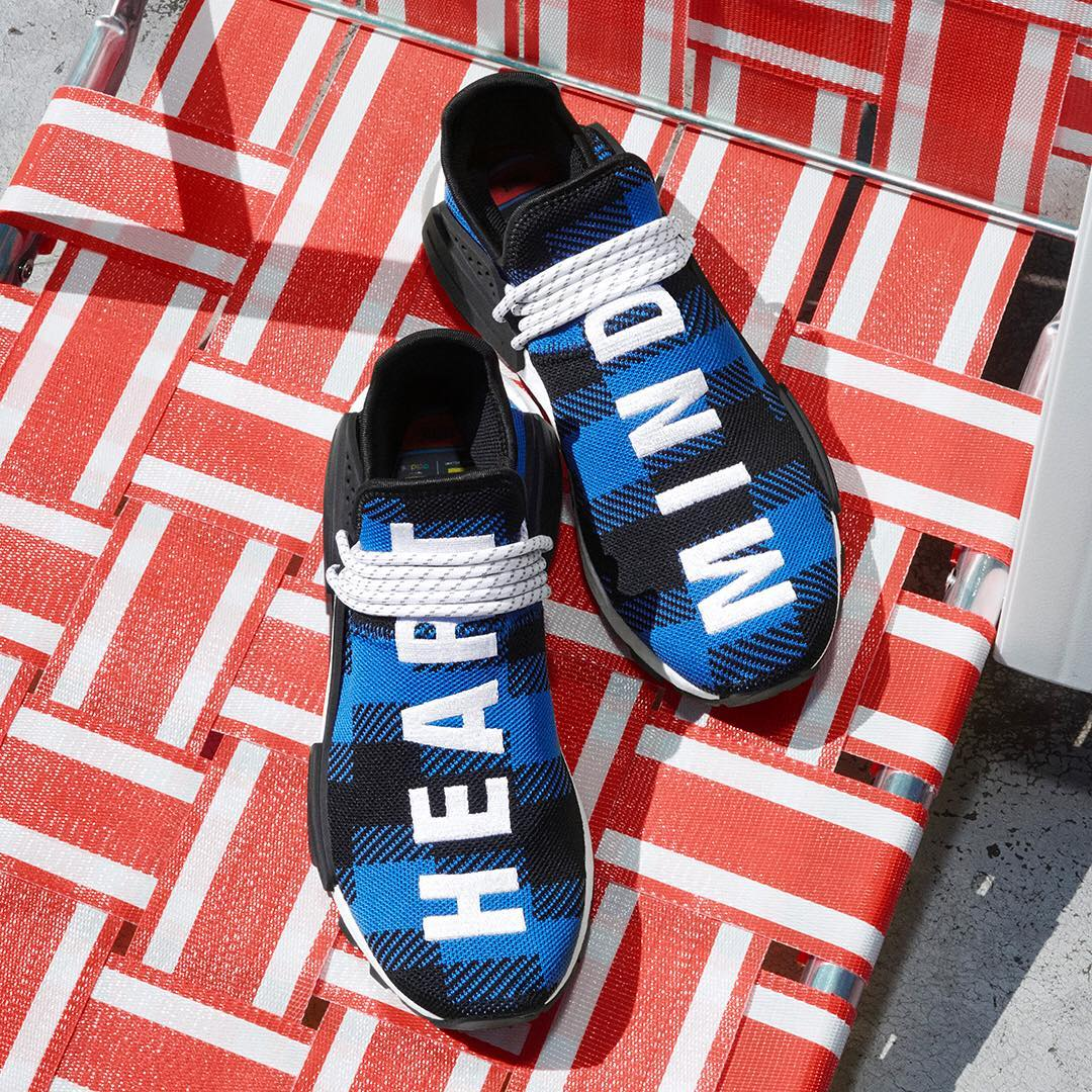 BBC x Adidas NMD Hu 'Digijack' Collection (Blue)