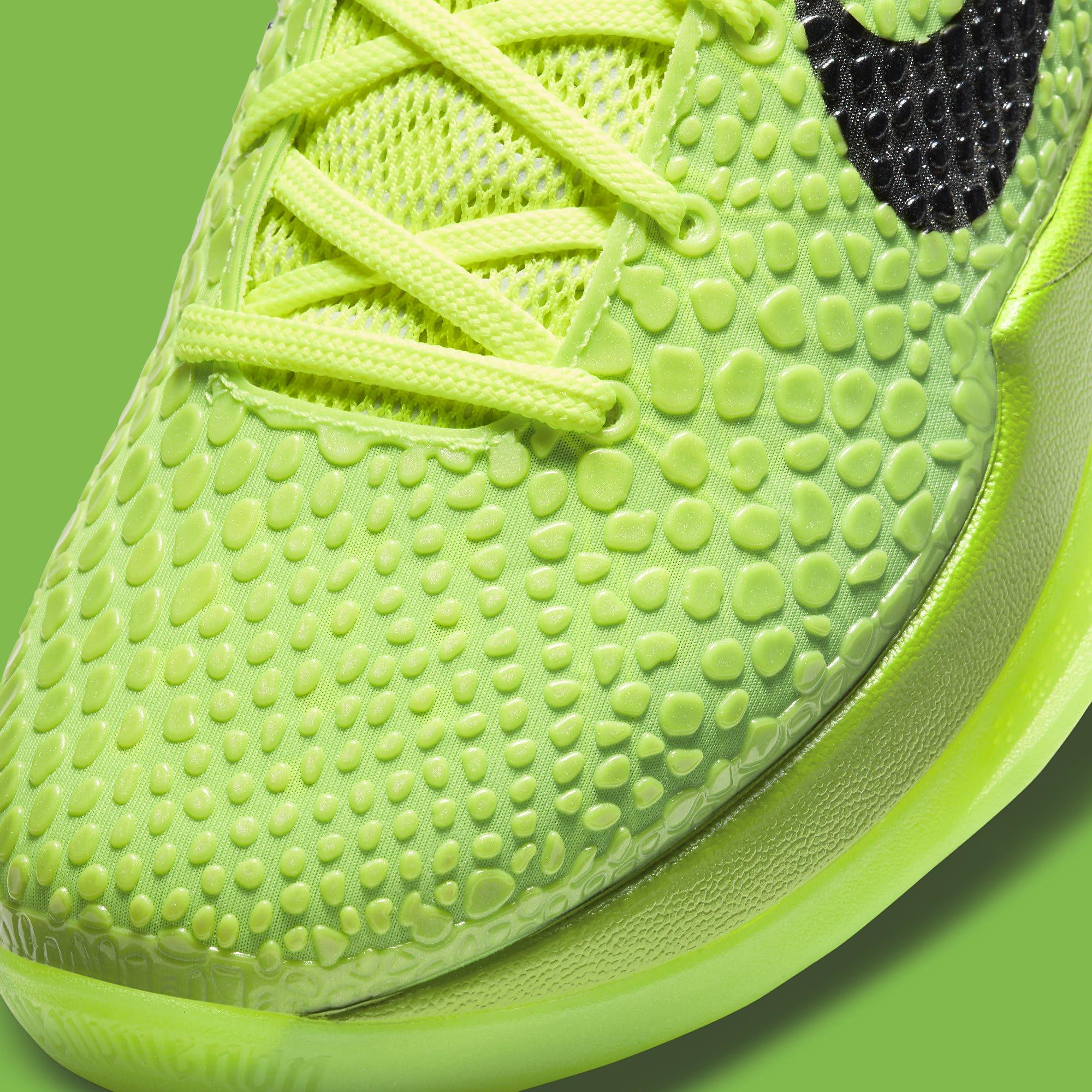Nike Kobe 6 Protro 'Grinch' CW2190-300 Toe