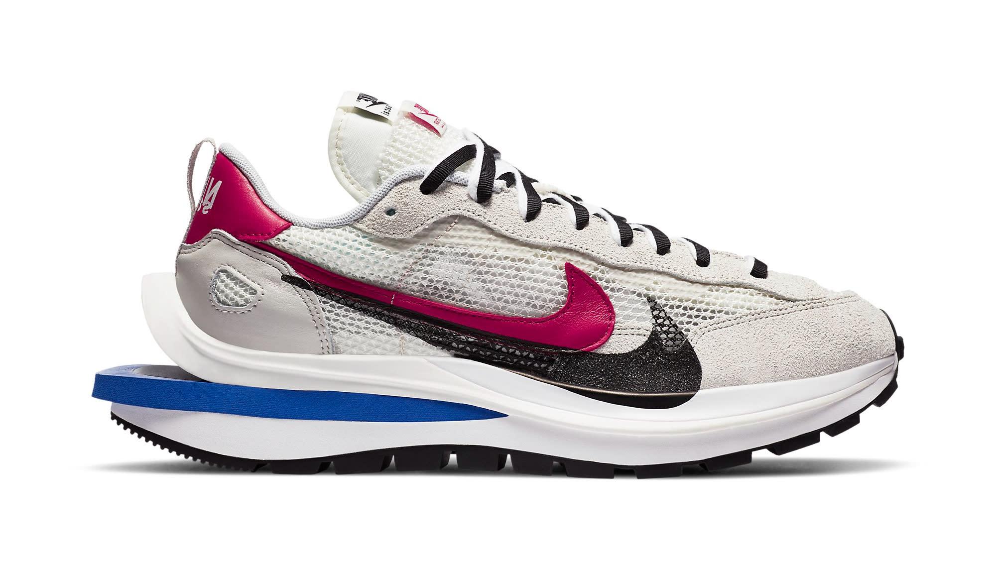 Sacai x Nike VaporWaffle 'Sail' CV1363-100 Release Date