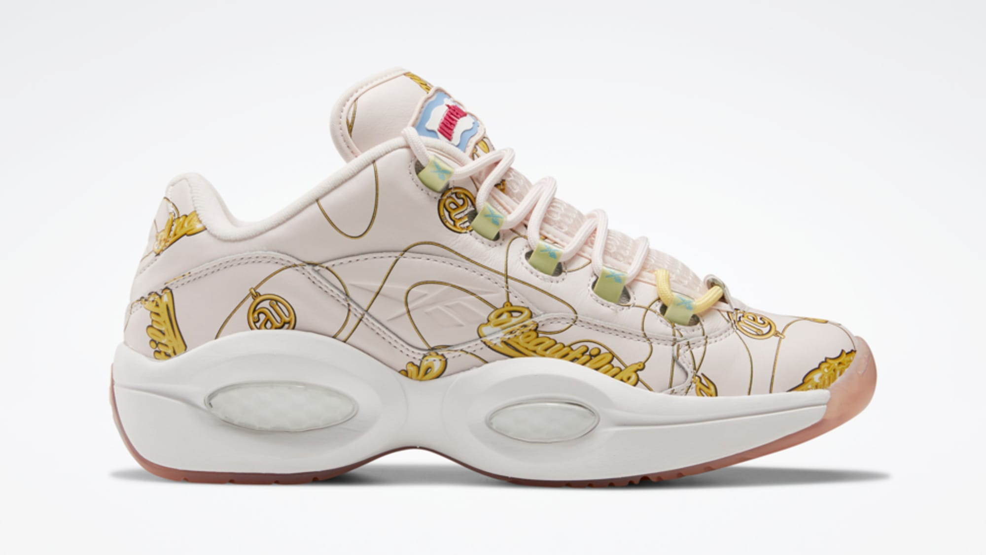 BBC x Reebok Question Low 'Name Chains' FZ4341 Release Date