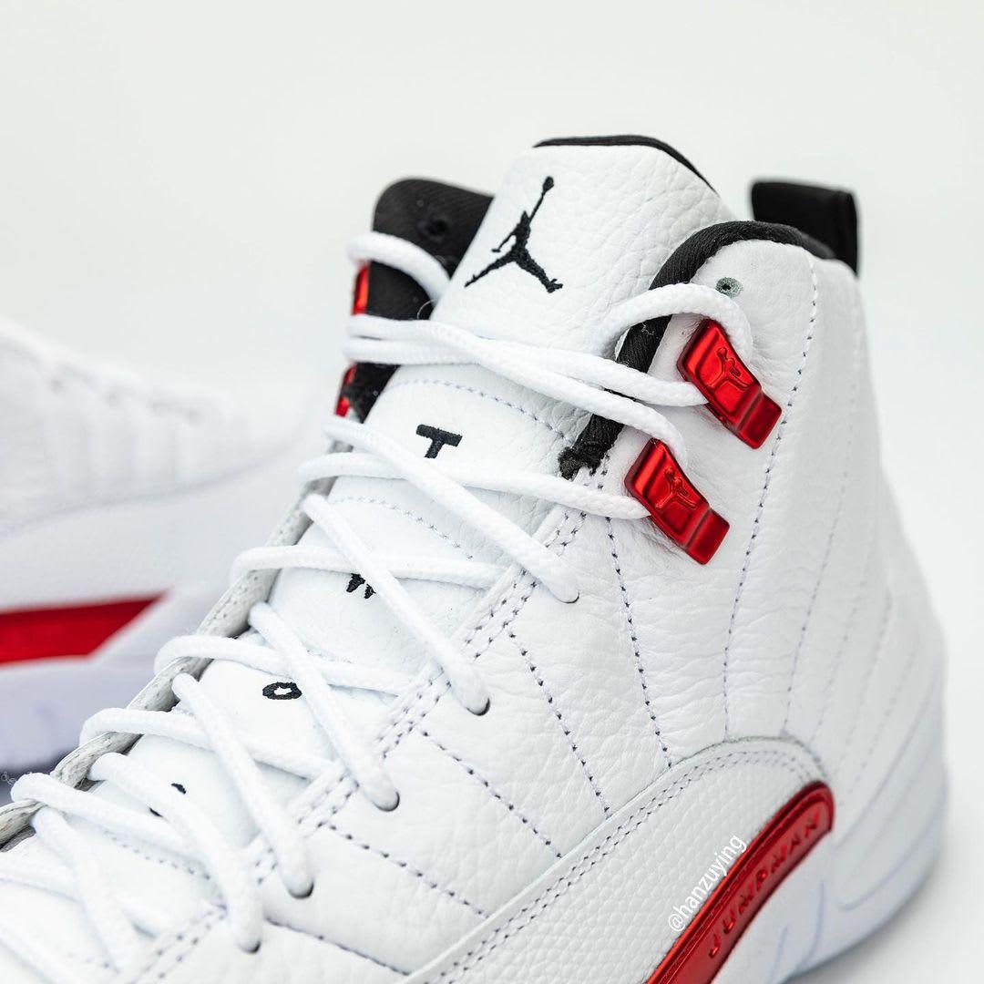 Air Jordan 12 Retro 'Twist' CT8013-106 Tongue