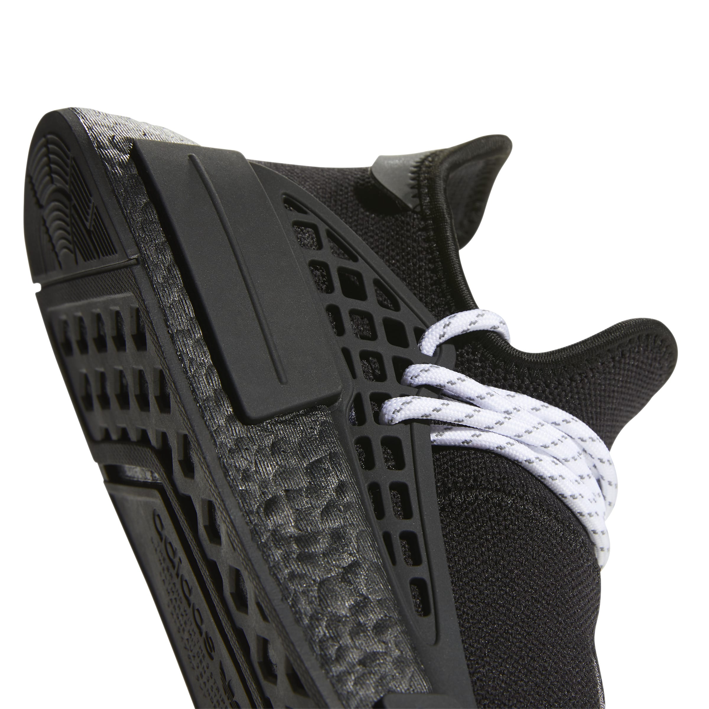 Pharrell Williams x Adidas NMD Hu 'Black' 2020 GY0093 (Side)