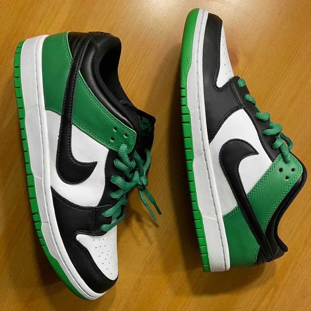 Nike SB Dunk Low 'Classic Green' BQ6817-302 Side