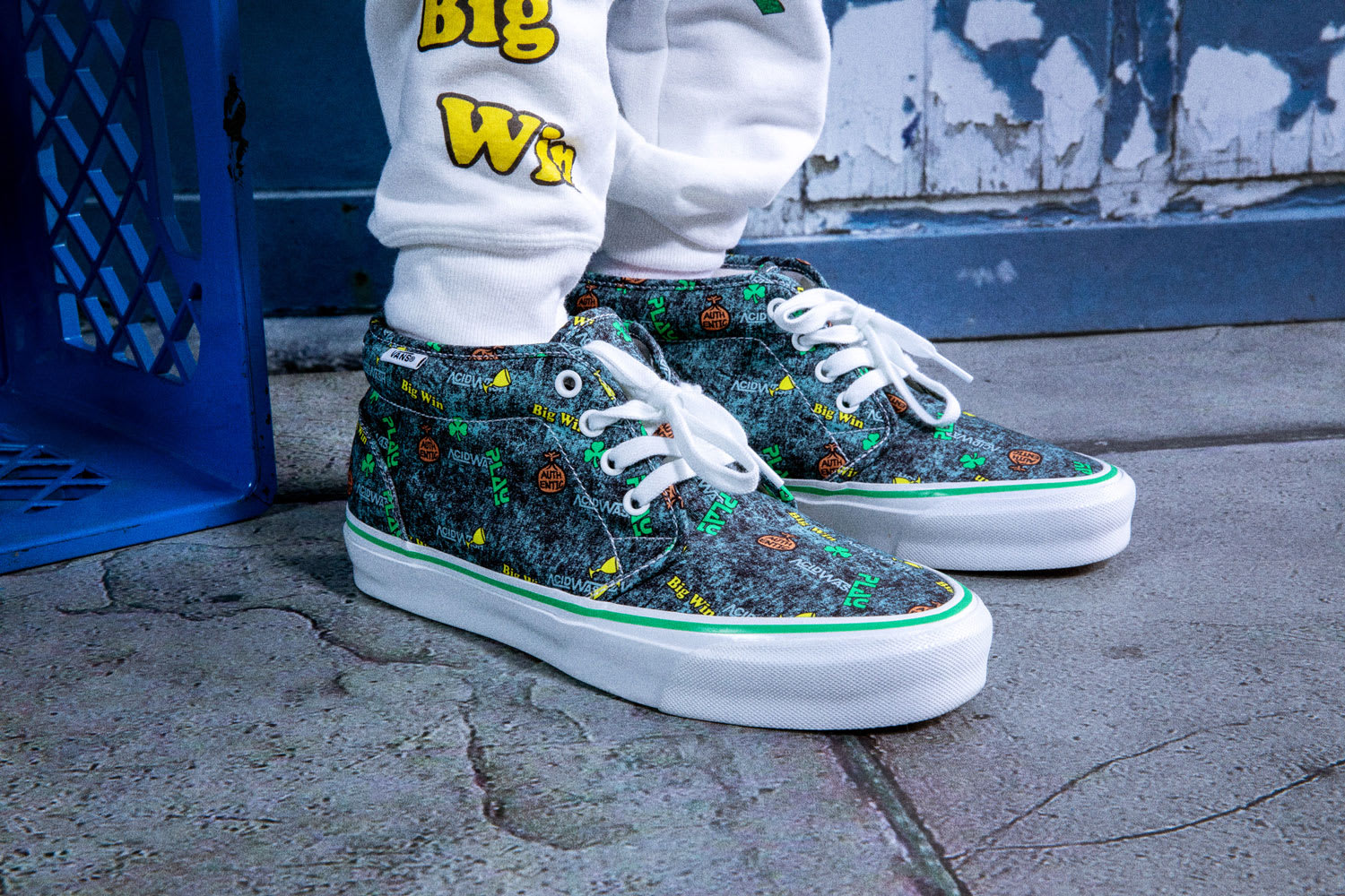 Fergus Purcell x Vans Chukka 'Acid Wash' Pair