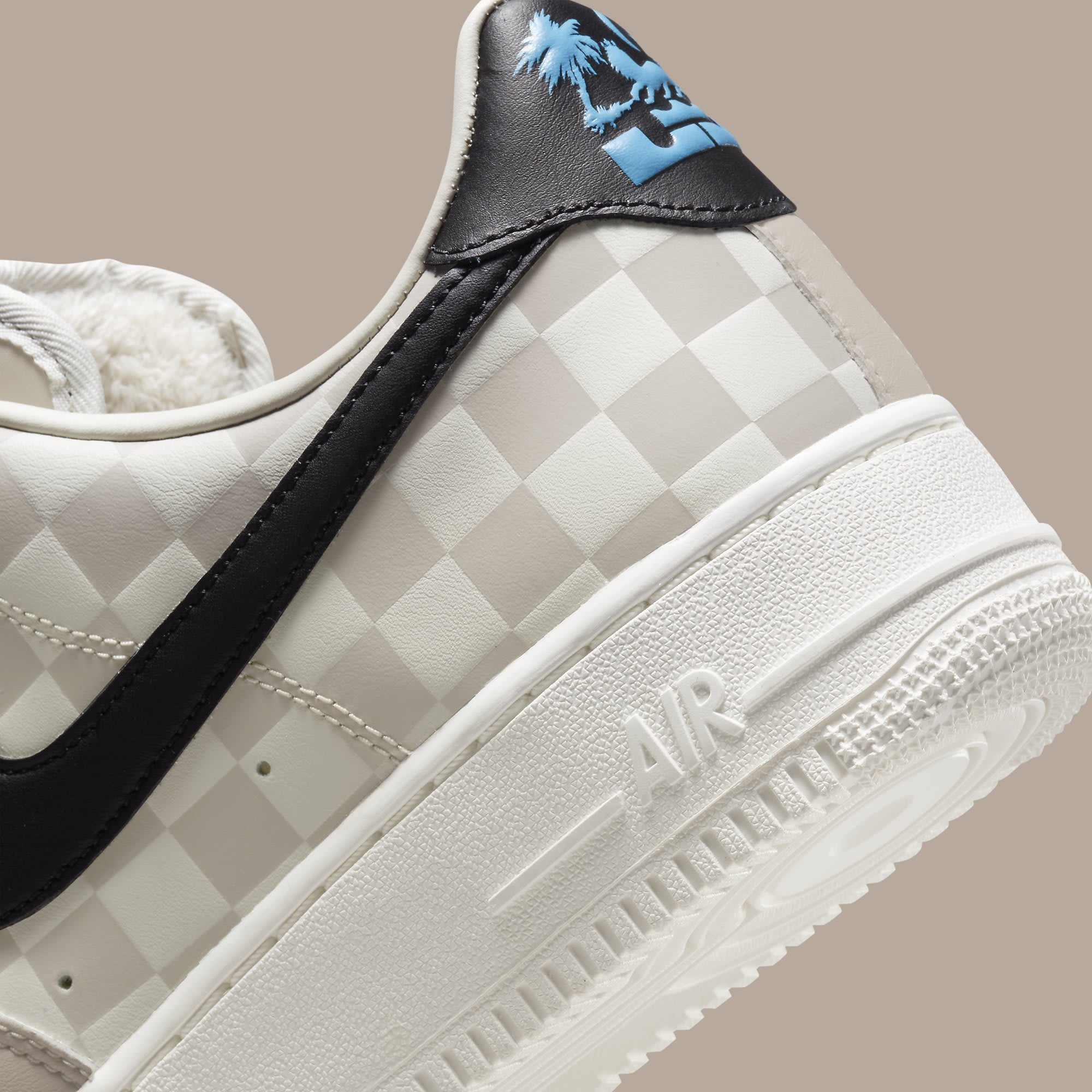 LeBron James x Nike Air Force 1 Low Strive for Greatness Release Date DC8877-200 Heel Detail