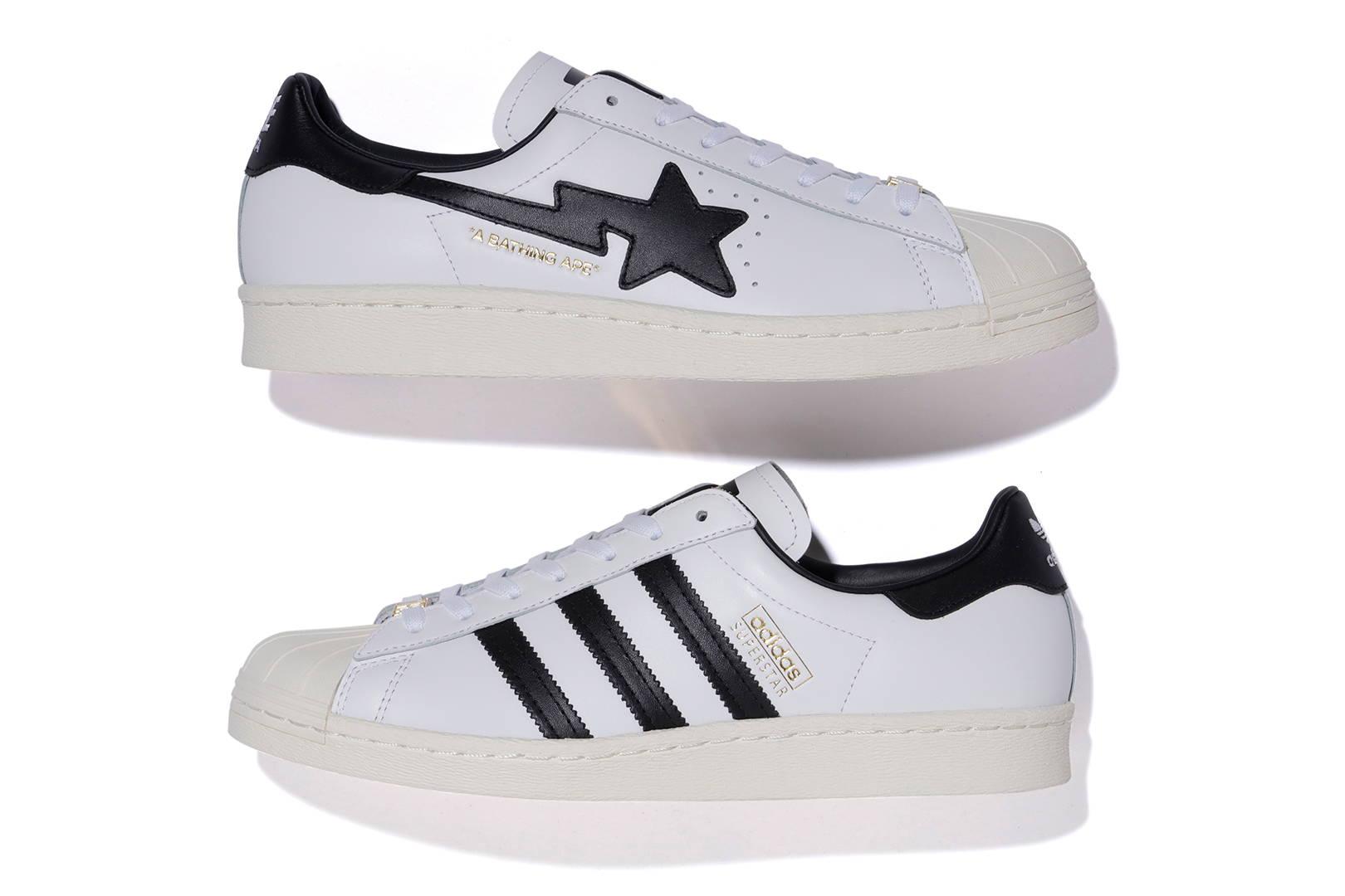 Bape x Adidas Originals Superstar Lateral
