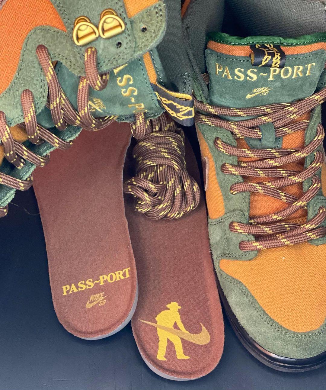 Pass~Port x Nike SB Dunk High Collab