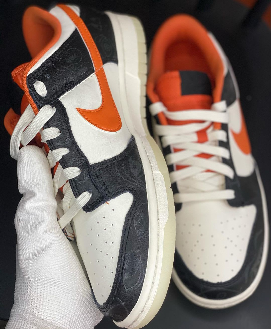 Nike Dunk Low 'Halloween' DD0357-100 Front