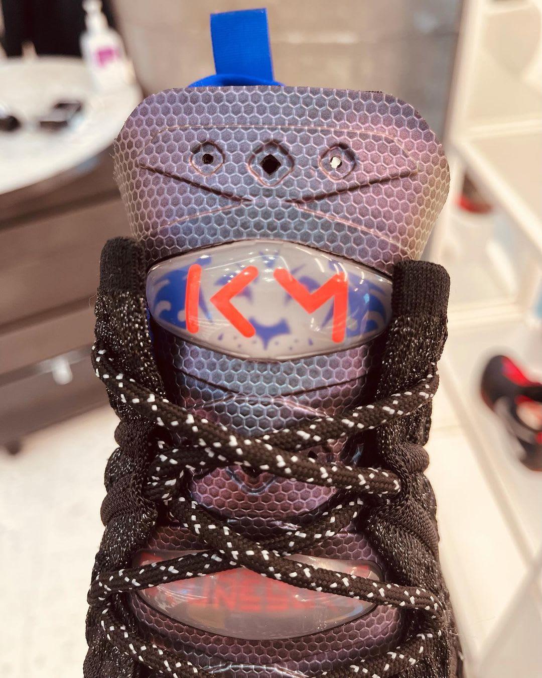 Nike LeBron 18 'Kylian Mbappe' Tongue