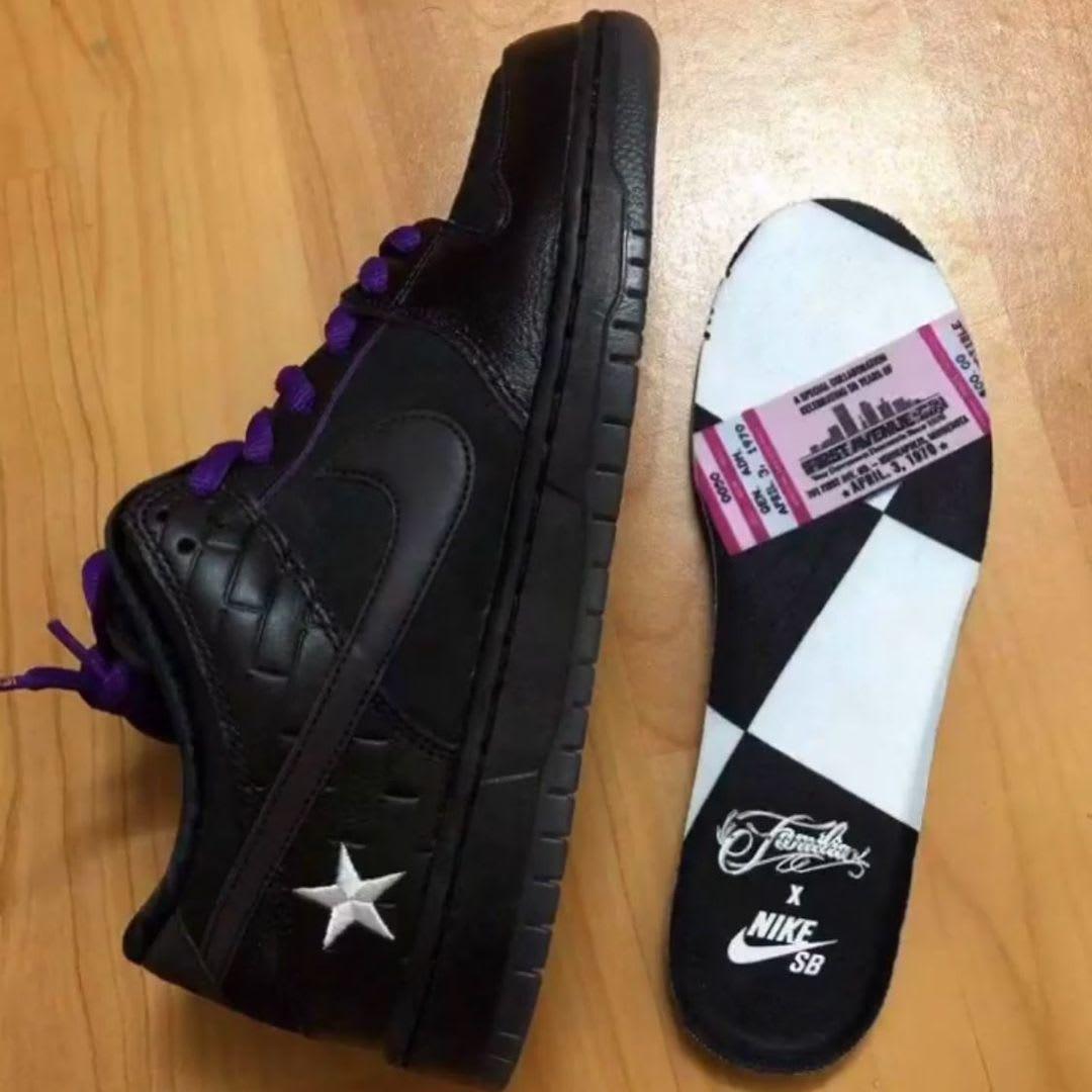 Familia x Nike SB Dunk Low 'Prince' Side